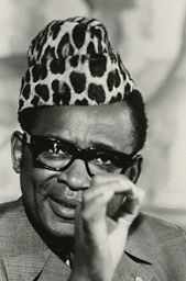 Mobutu portraits (1976-04-28)(Gerald Ford Library) (cropped)