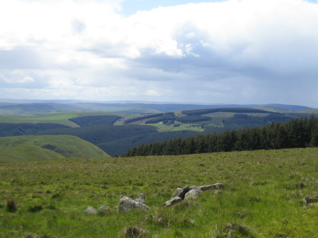 Moorland near Wether Cairn 1 - geograph.org.uk - 453512