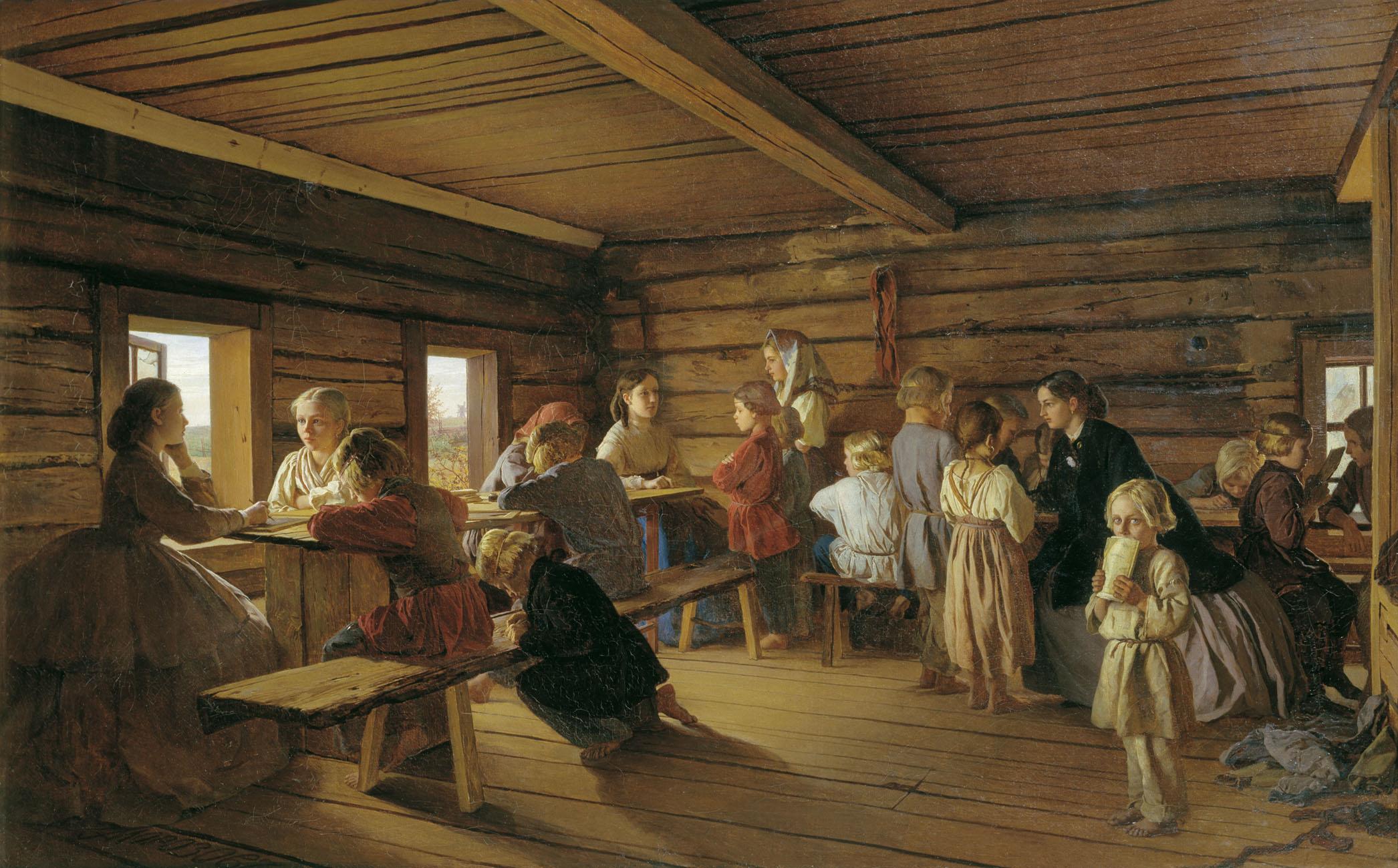 Картинка старорусская школа