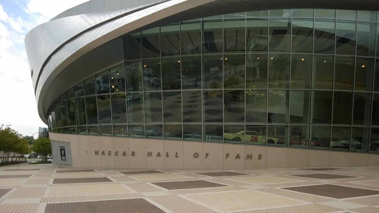 NASCAR Hall of Fame Entrance.jpg