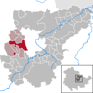 Nohra Place in Thuringia, Germany