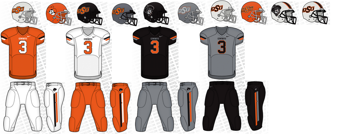 Never an Easy Task – Ranking the NCAA Football Uniforms  ad780cbc8