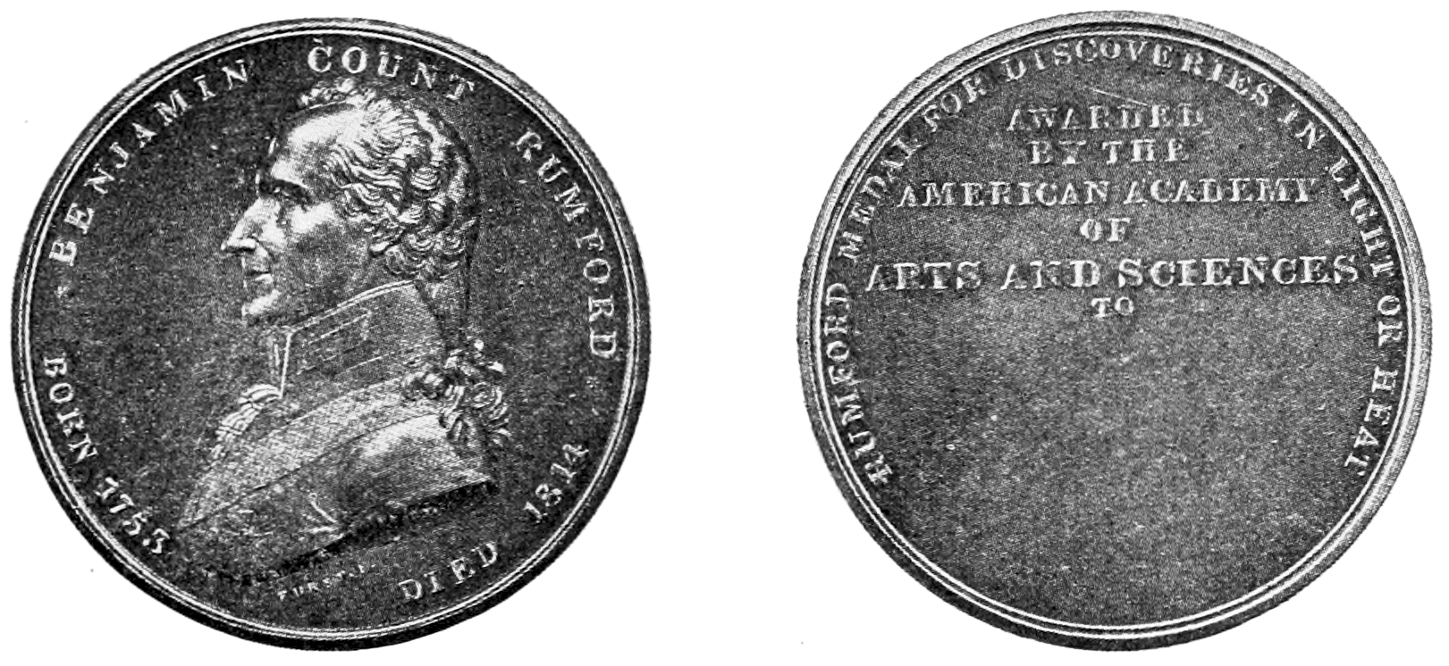 PSM V73 D043 Rumford medal of the american academy of arts and sciences.png