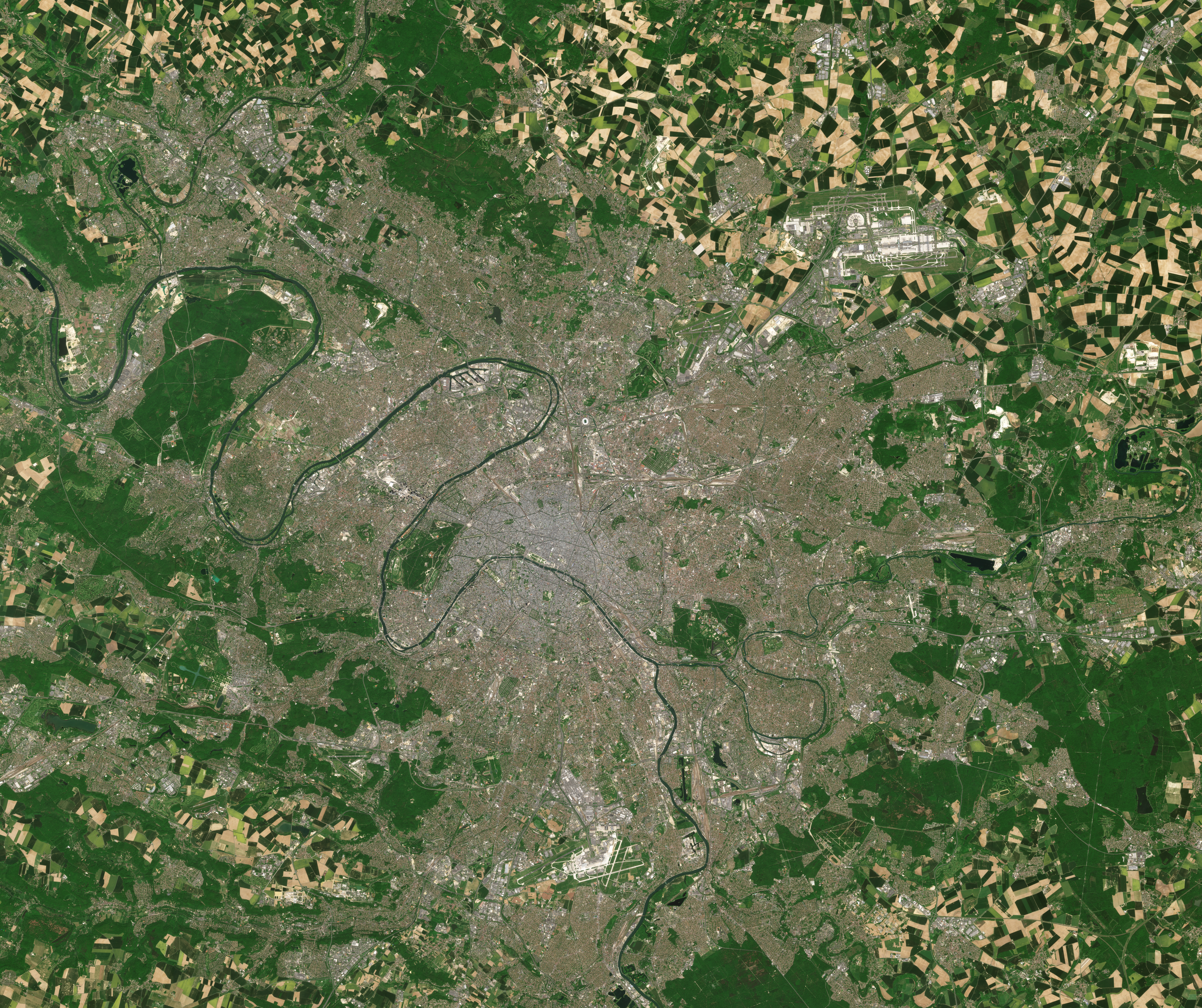 Geography Of Paris Wikipedia