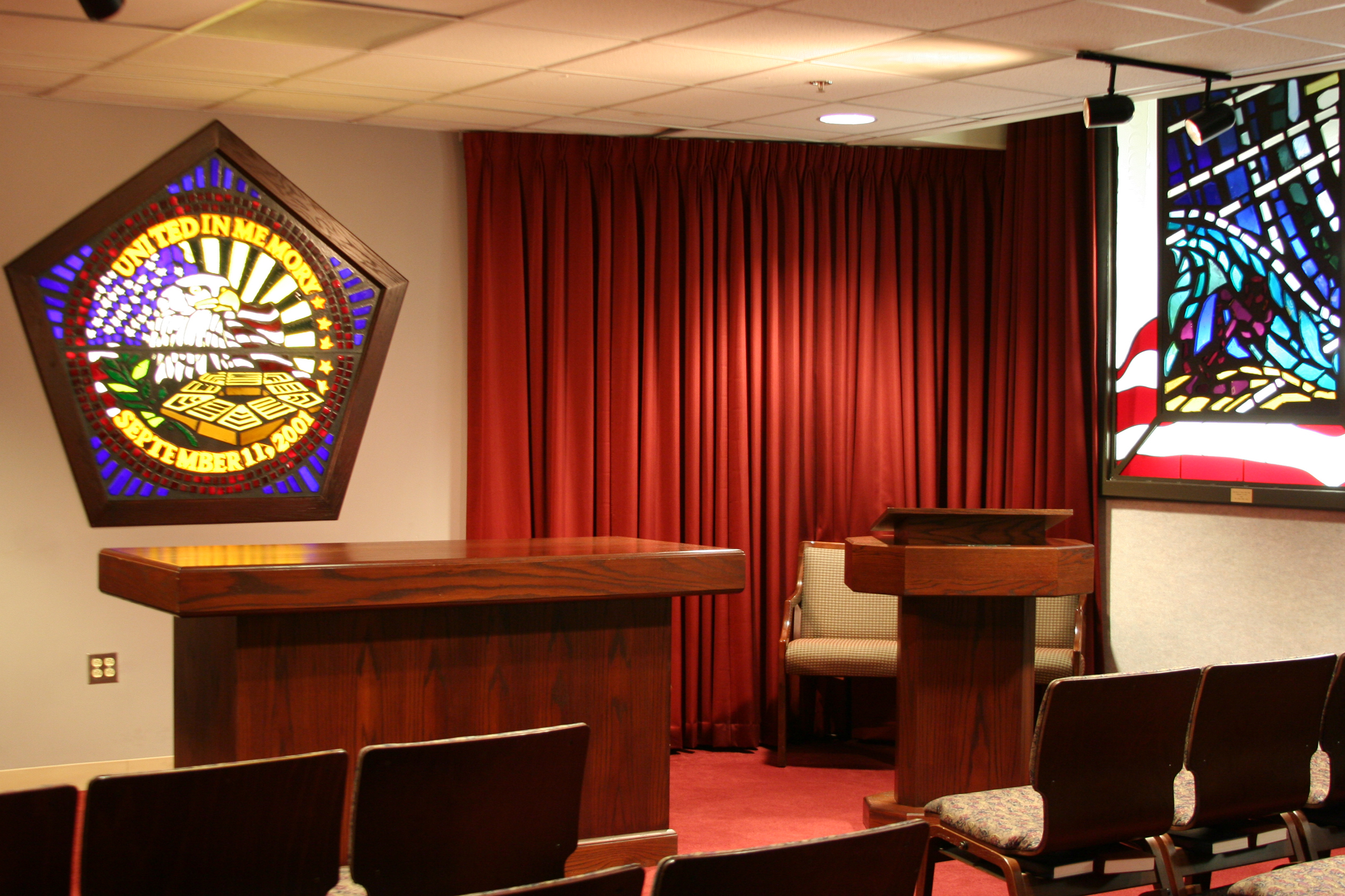 Pentagon chapel