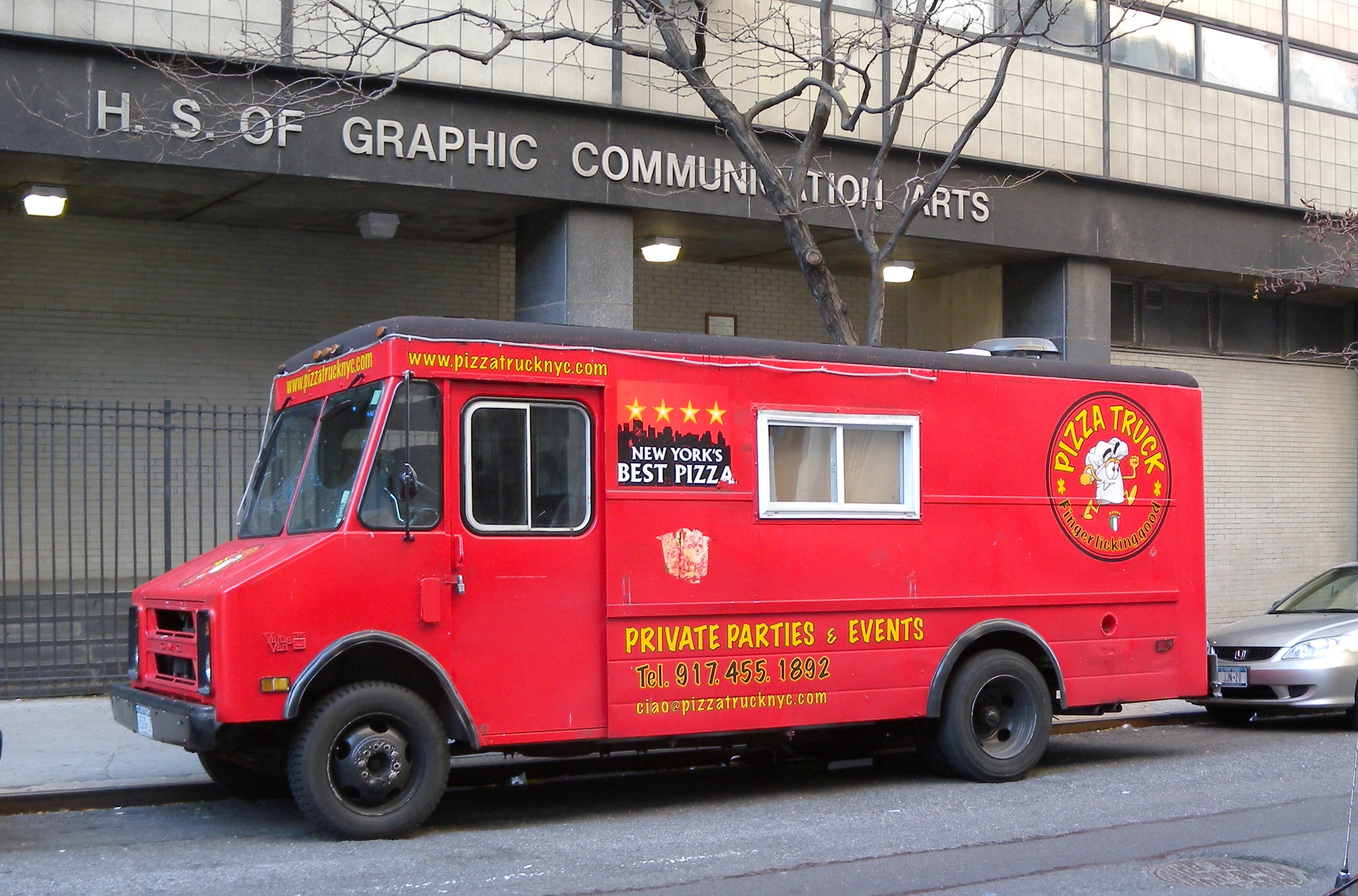 Food Truck Pizza Montreal