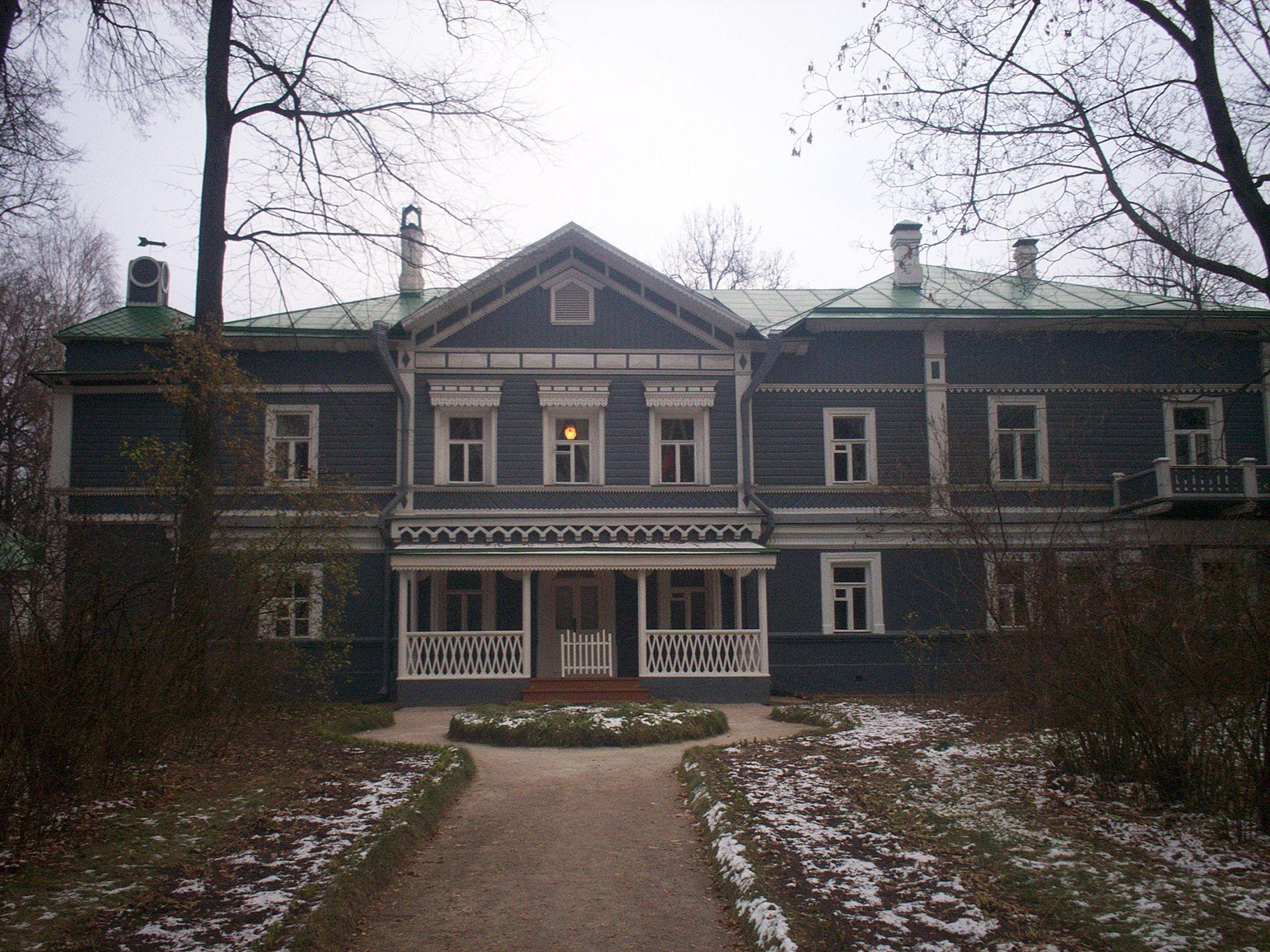 La última casa de Chaikovski, en Klin, ahora convertida en el Museo Chaikovski.