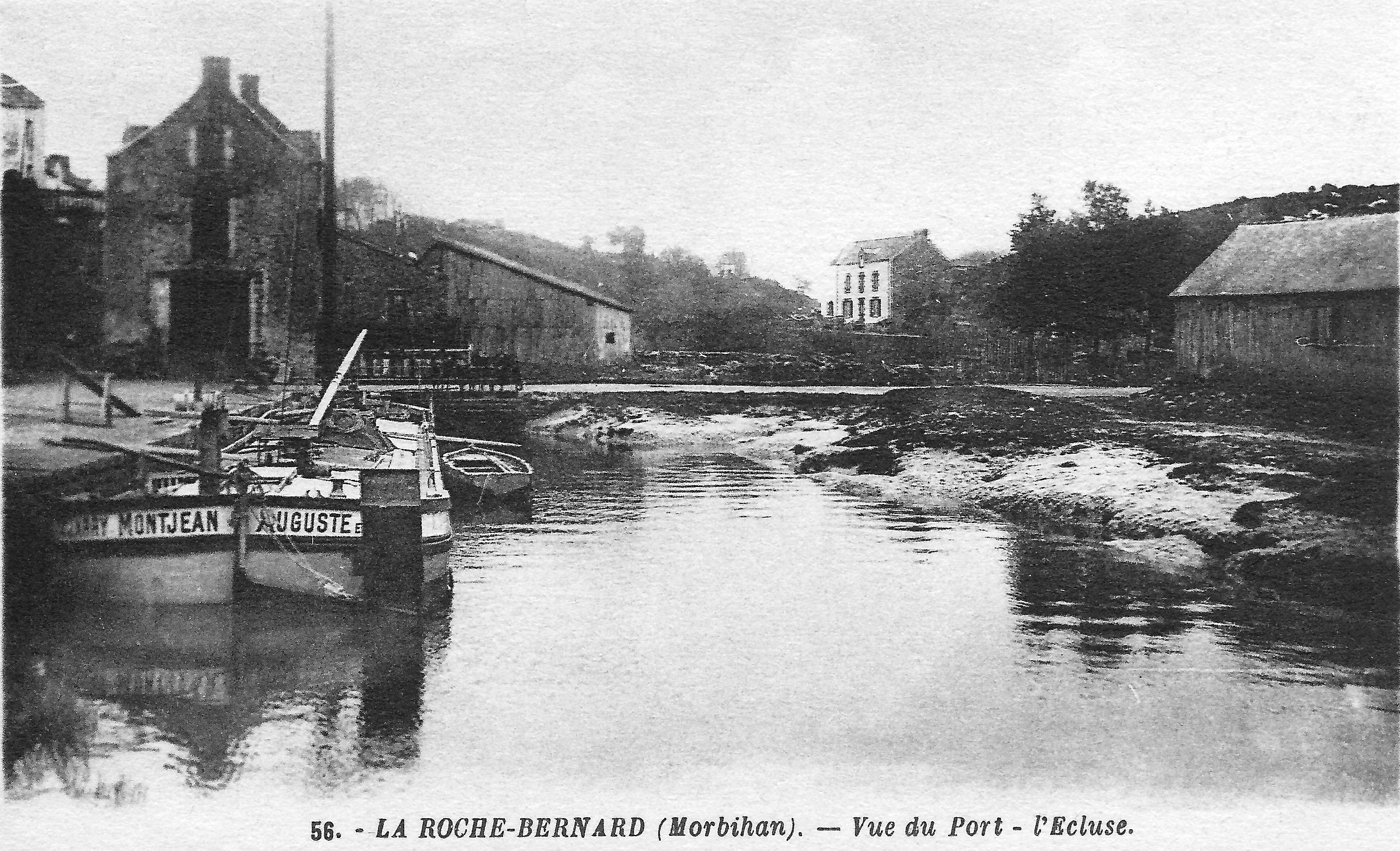 File Port De La Roche Bernard Et Ecluse Jpg Wikimedia Commons