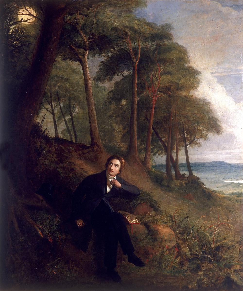 Portrait of Keats
