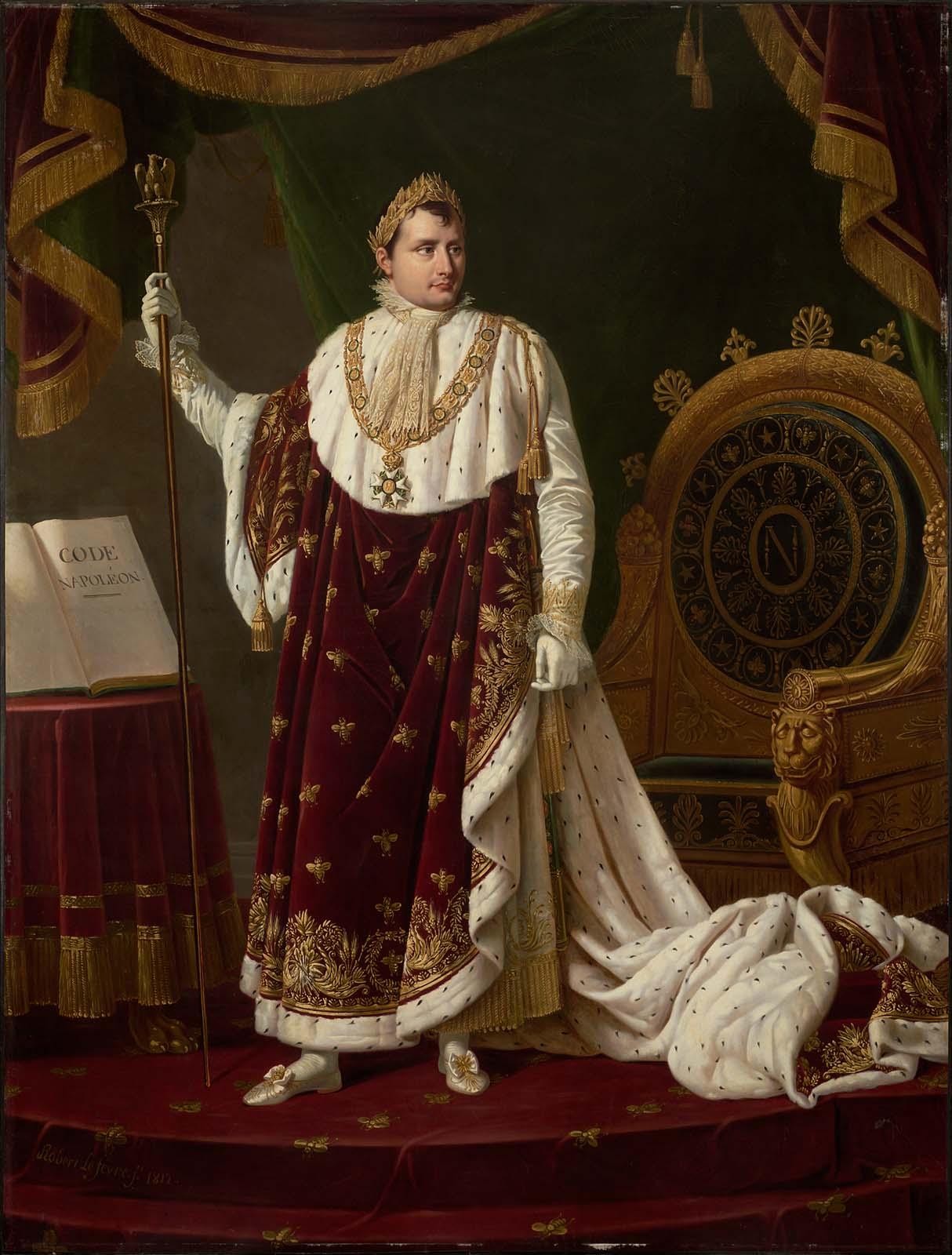 Portrait of Napoleon I in His Coronation Robe