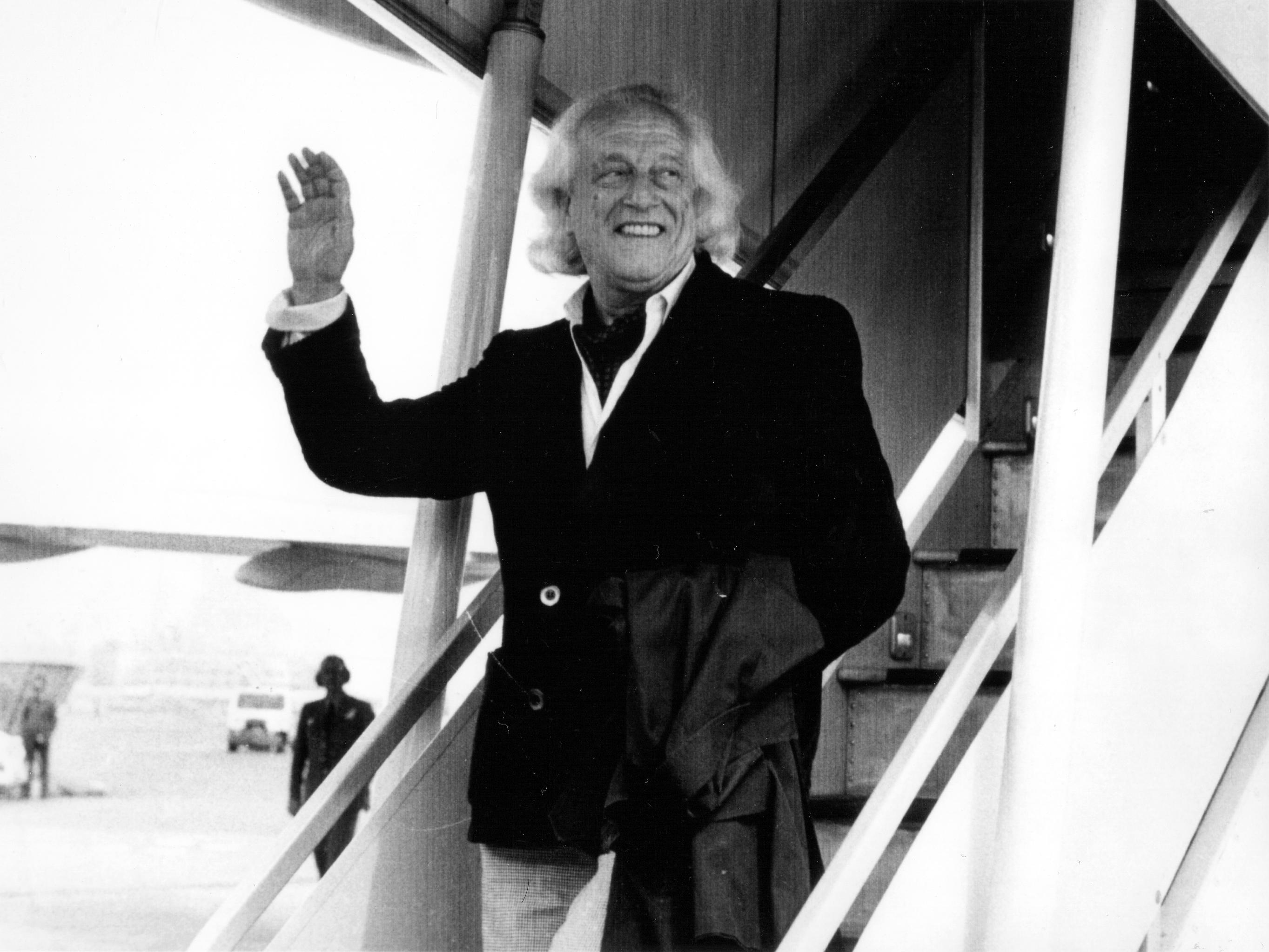 Rafael Alberti en 1977