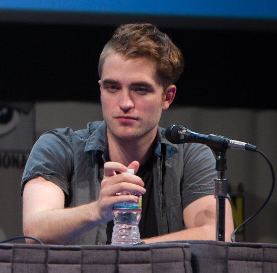 Robert Pattinson Comic-Con 2011