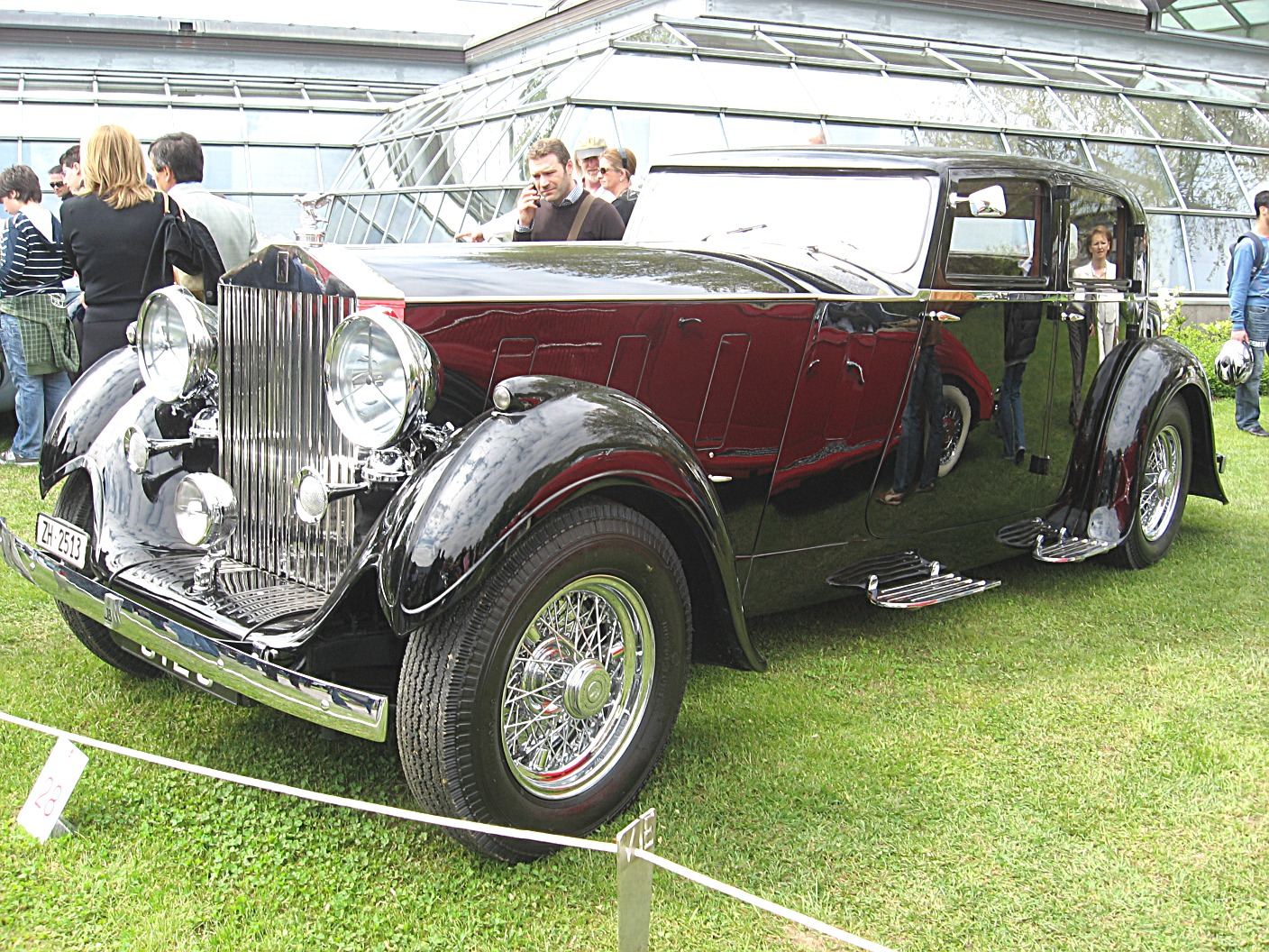 File Rolls Royce Phantom Iii Front View Jpg Wikimedia Commons