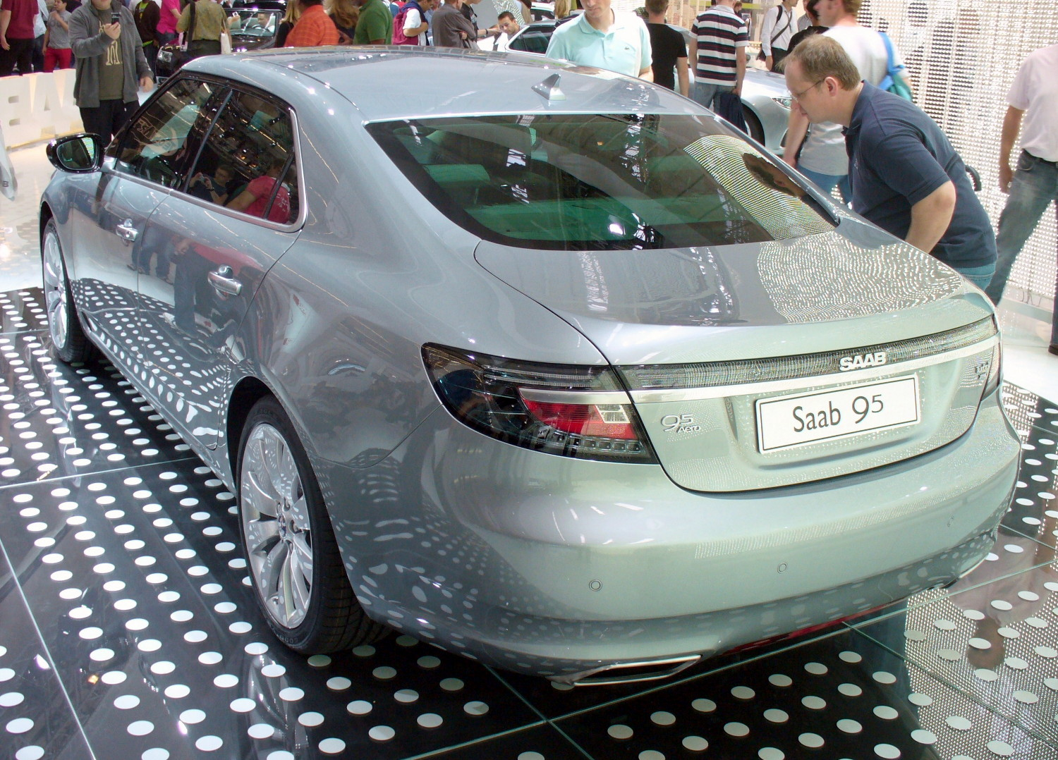 file saab 9 5 aero turbo xwd heck jpg wikipedia. Black Bedroom Furniture Sets. Home Design Ideas
