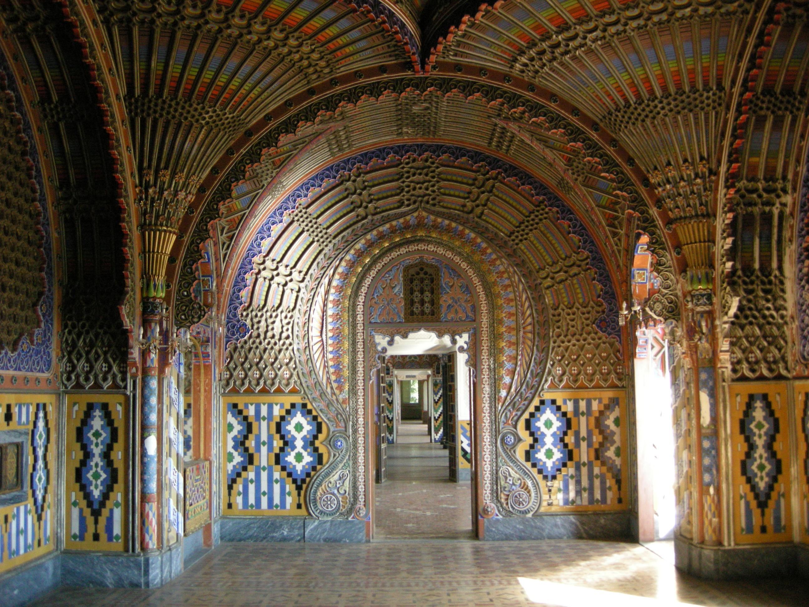 castello sammezzano, sala pavoni