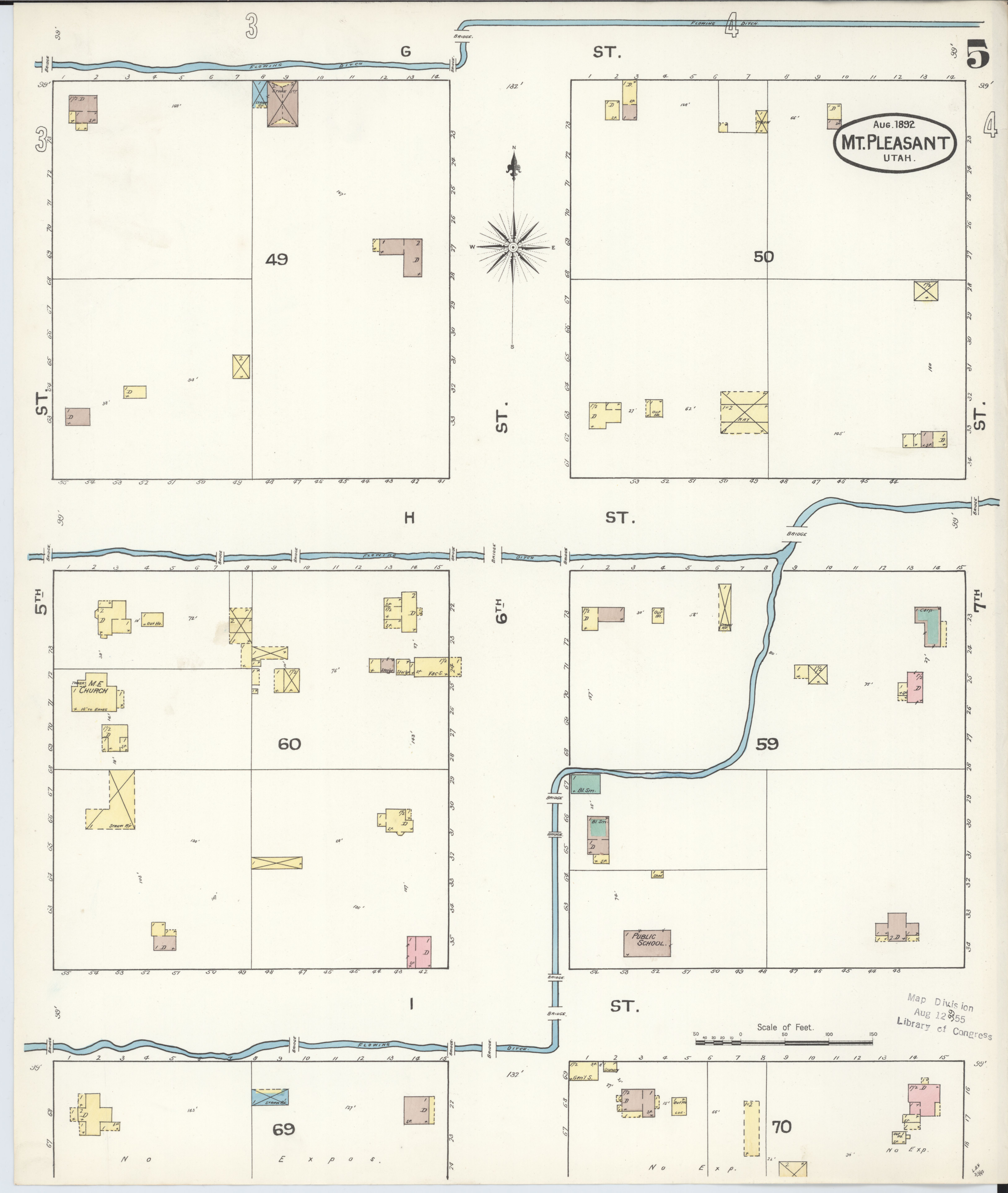 File:Sanborn Fire Insurance Map From Mount Pleasant