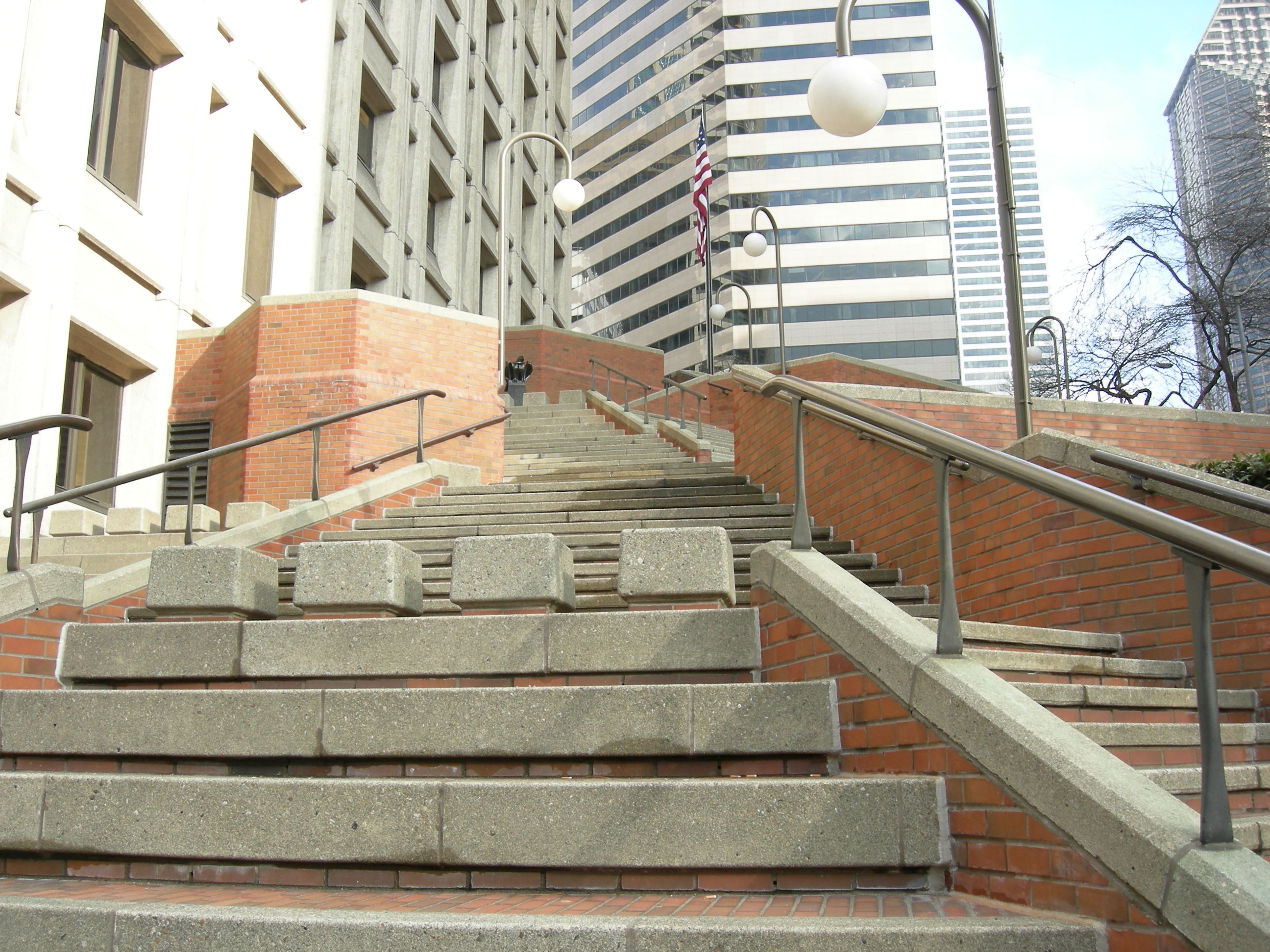 File seattle jackson federal building steps for Steps to building a new house