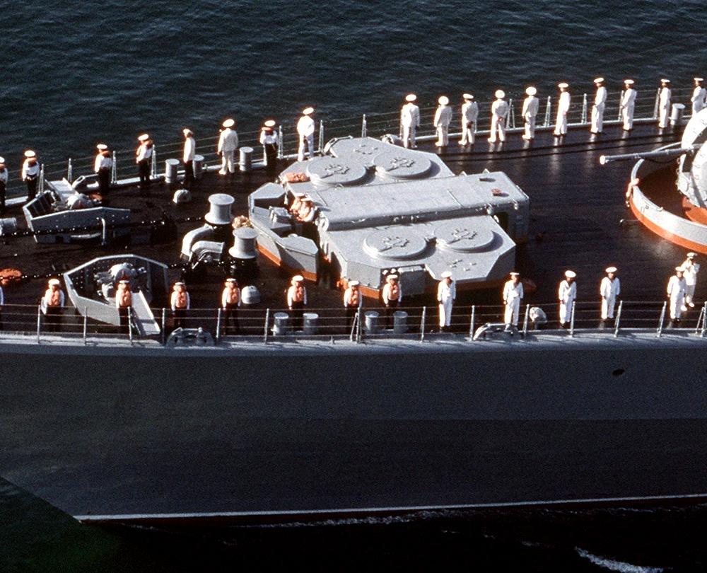 Aircraft Carrier Admiral Kuznetsov: News #2 - Page 38 Soviet_Udaloy_class_destroyer_Admiral_Vinogradov_-_3K95_Kinzhal