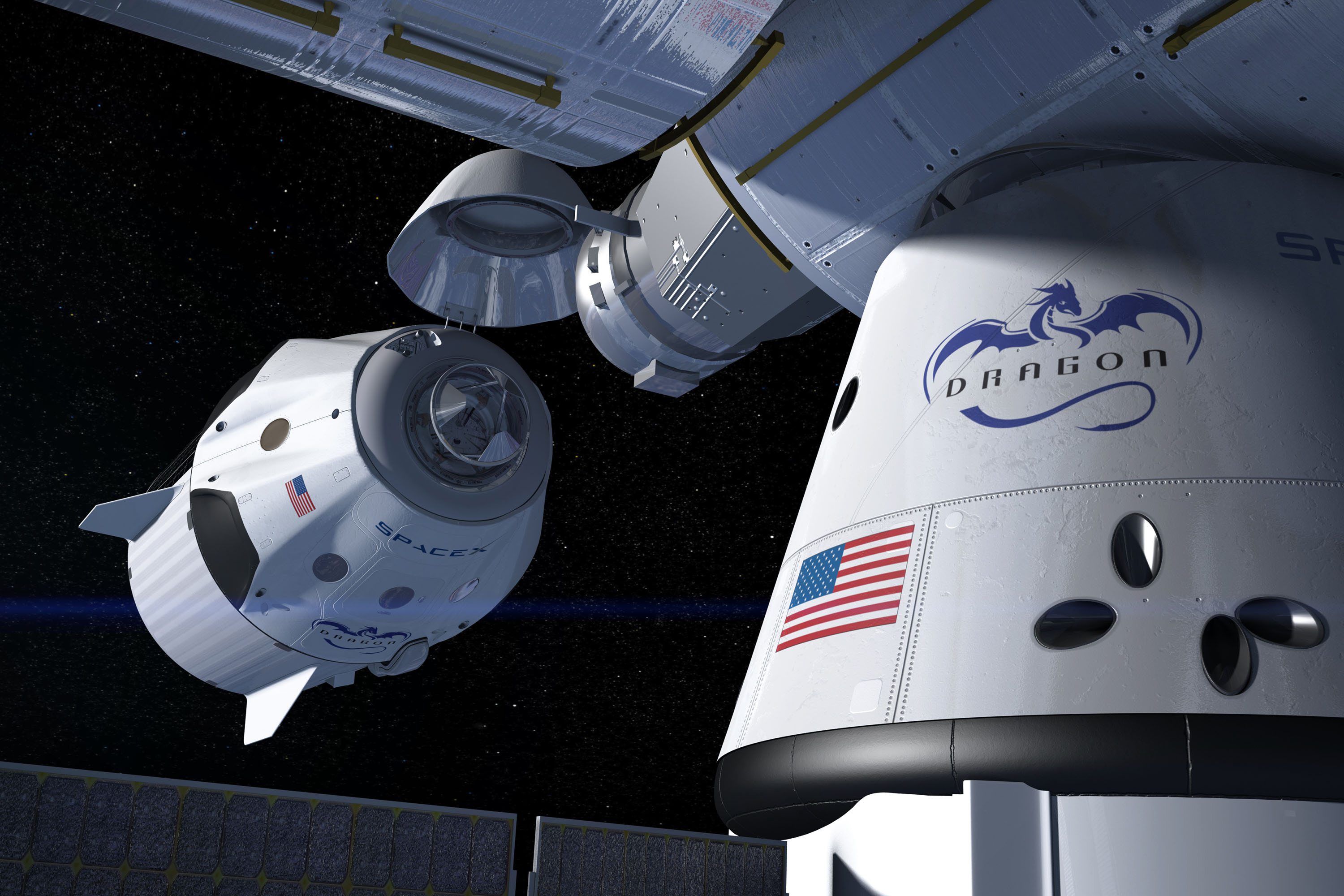 spacex dragon docking - photo #20