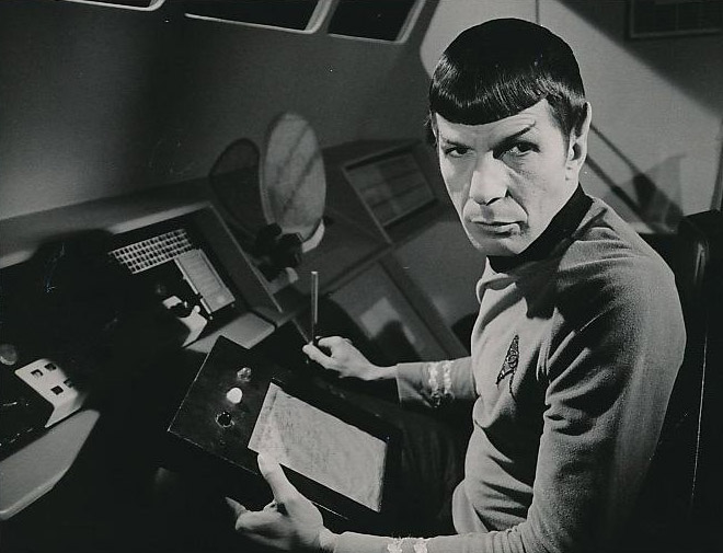 Spock at the console