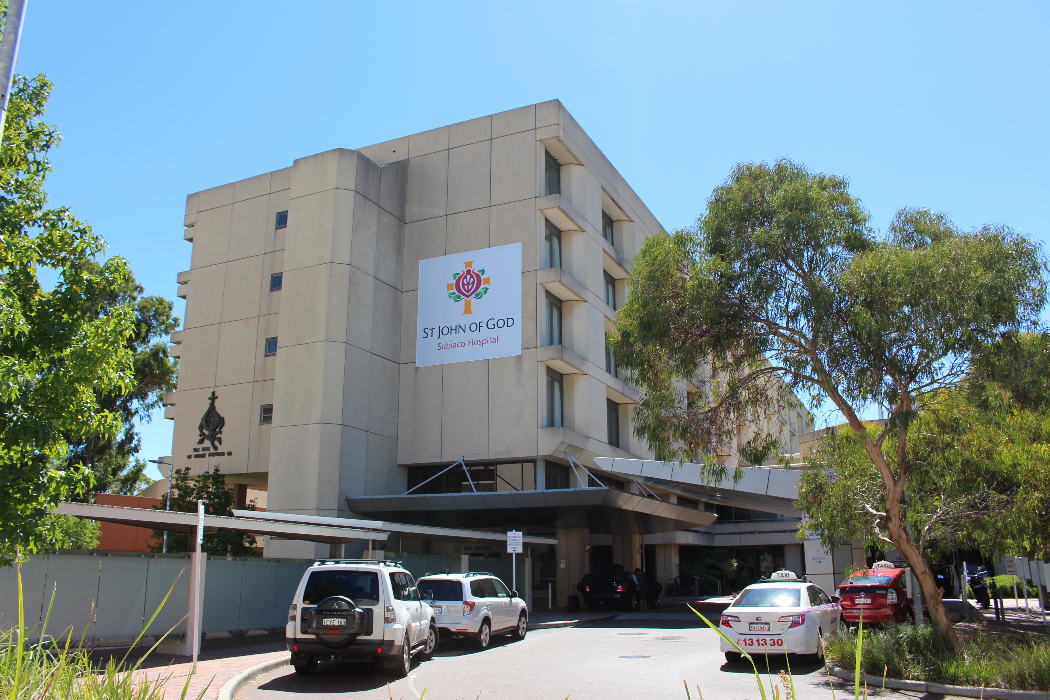 St John of God Subiaco Hospital - Wikipedia