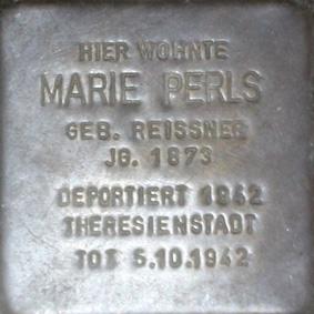 File:Stolperstein Marie Perls.jpg