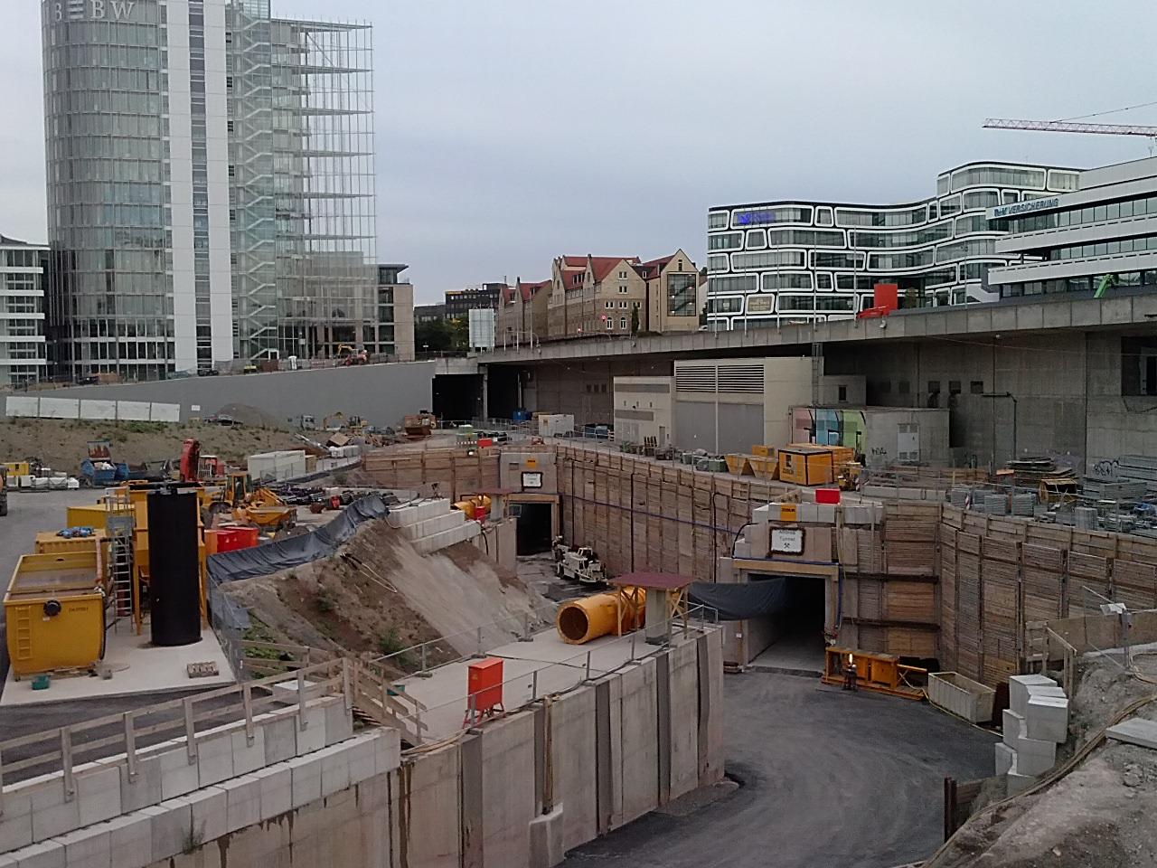 Image result for stuttgart tunnels