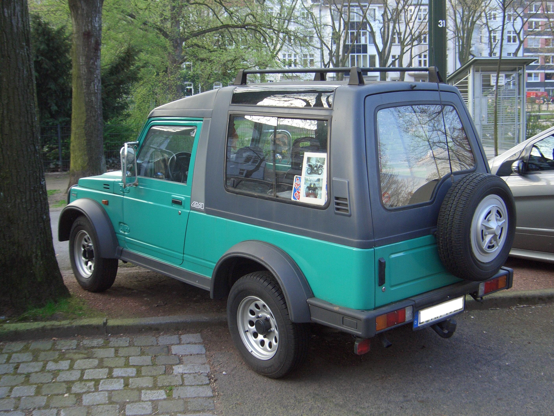 File:Suzuki Samurai LWB JA11 1990-1995 backleft 2009-06-07 U