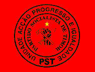 Flag of East Timorese party Partido Socialista...