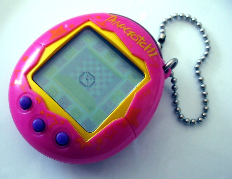 Tamagotchi toy collectables