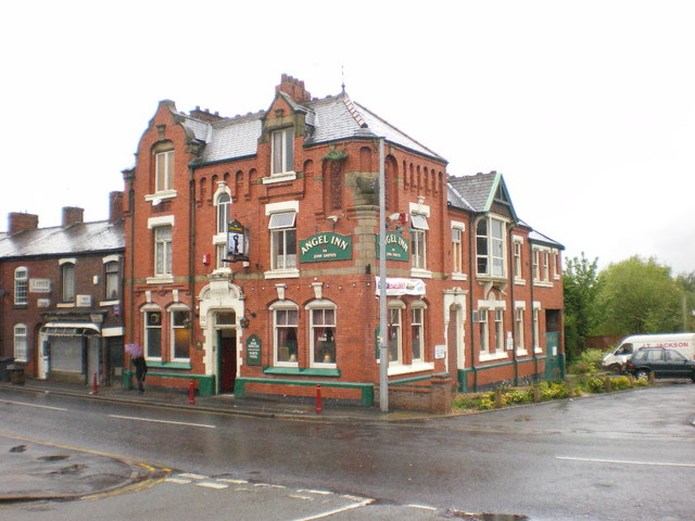 Creative Commons image of The Angel Inn in Dukinfield