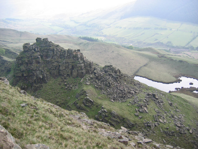 The Tower, Alport Castles - geograph.org.uk - 424404