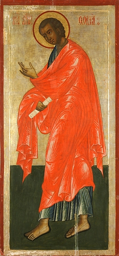 Eastern icon of Thomas the Apostle