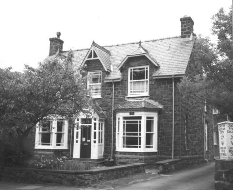 Место рождения Лоуренса в Тремадоге. Ныне известно как Snowdon Lodge
