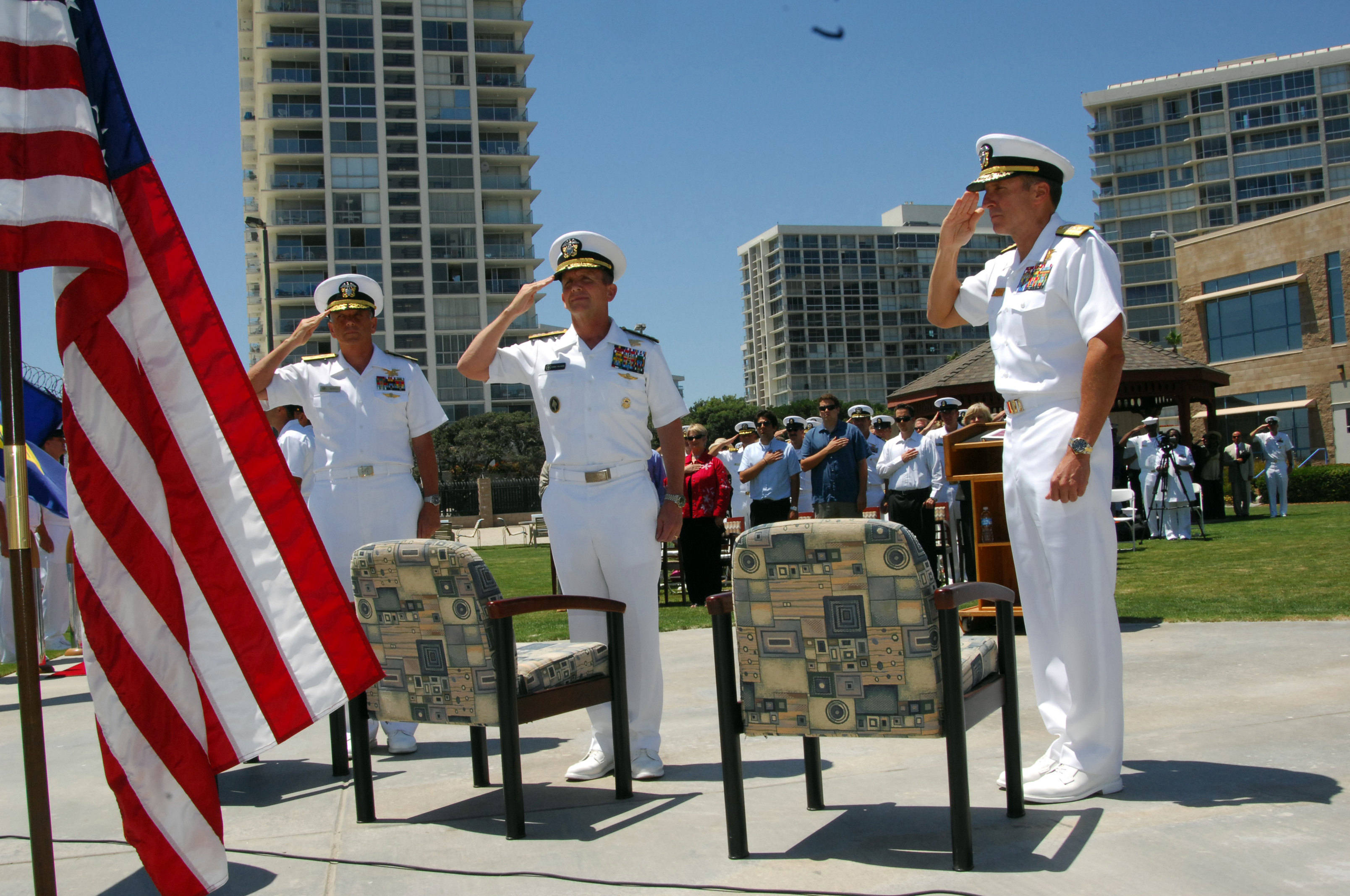 File:US Navy 080620-N-6730G-022 From left, Rear Adm. Garry Bonelli ...