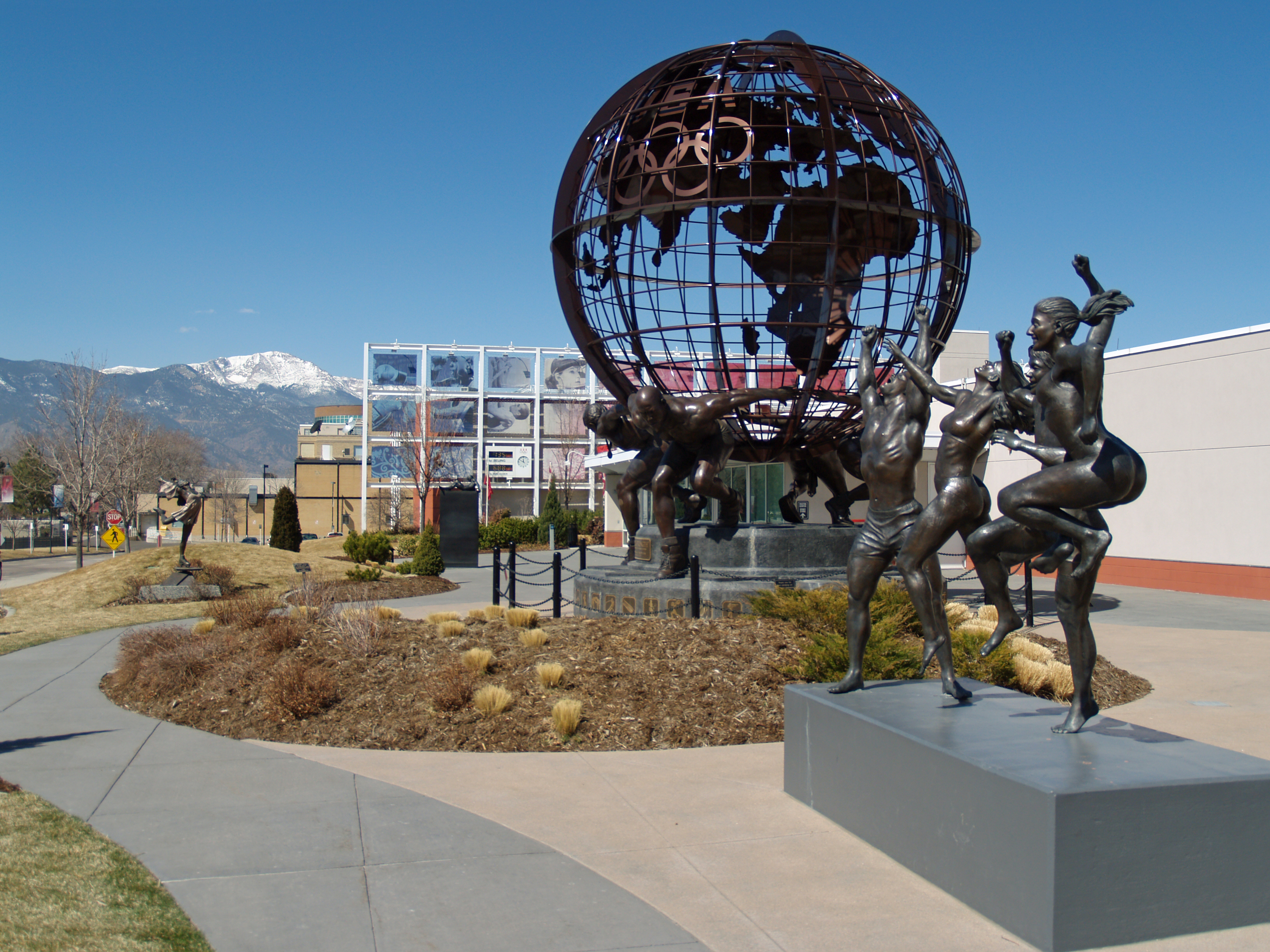 U.S. Olympic Committee headquarters in [[Colorado Springs, Colorado