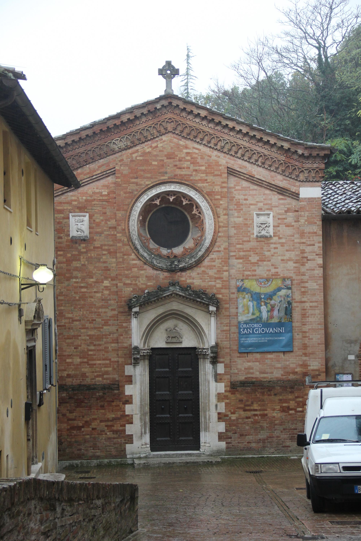 Oratory Of St John The Baptist Urbino Wikipedia