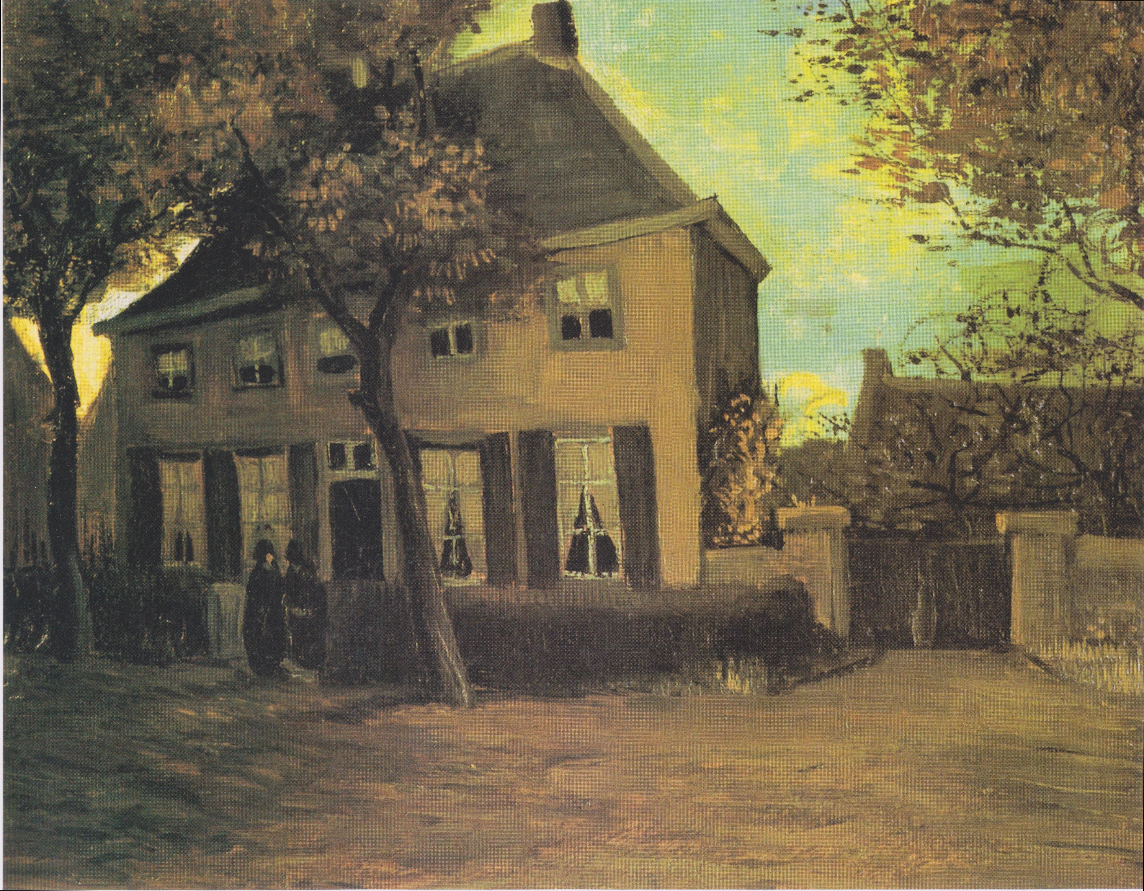das pfarrhaus in nuenen 1885 - Van Gogh Lebenslauf