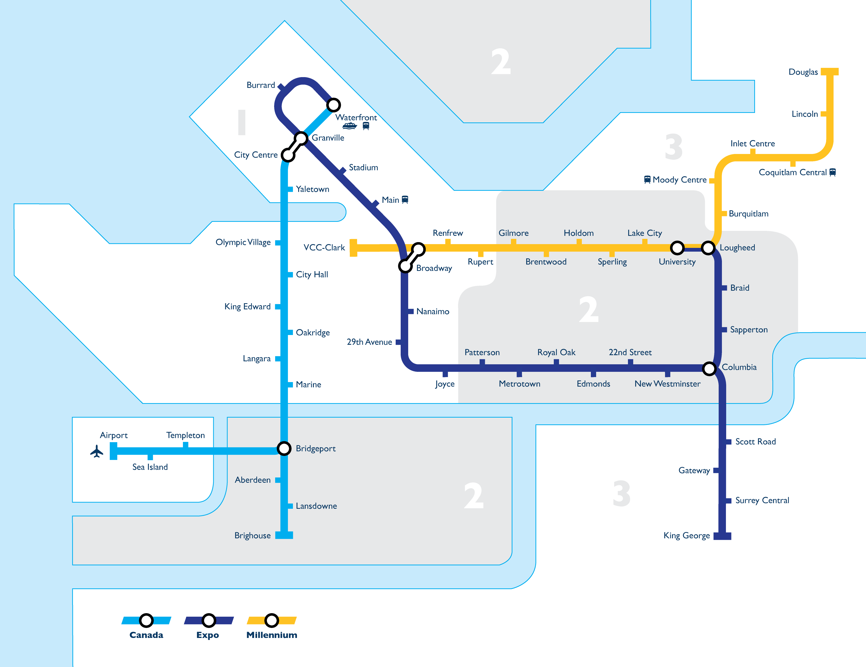 Vancouver Sky Train Map File:Vancouver Skytrain Map.png   Wikimedia Commons Vancouver Sky Train Map