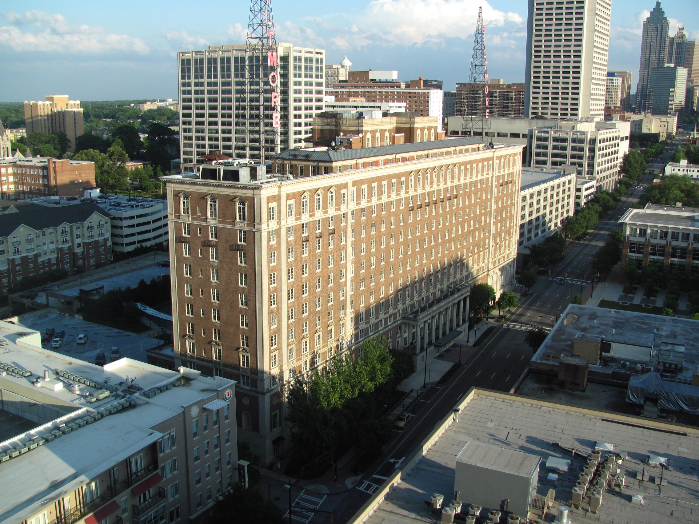 View of the Biltmore from the Palomar, Midtown Atlanta GA.jpg