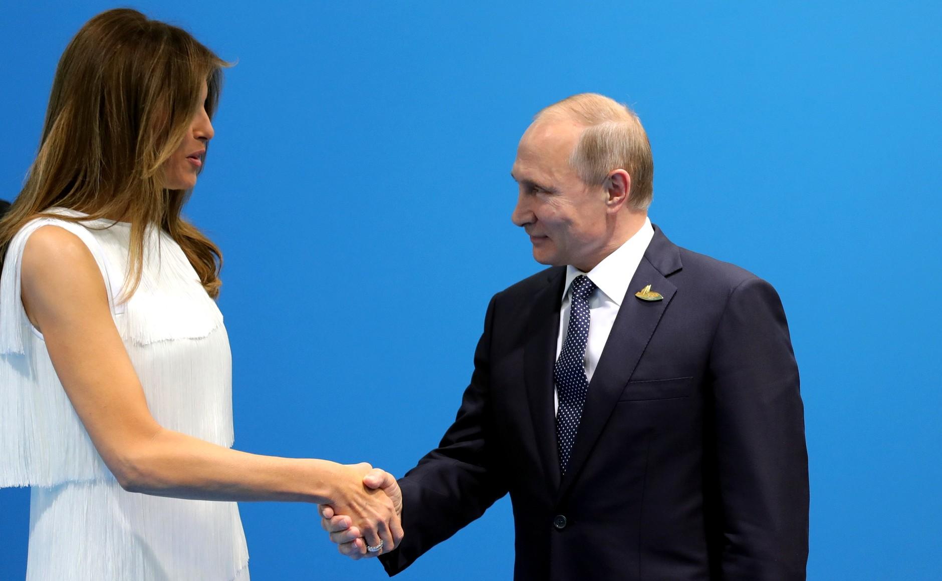 File:Vladimir Putin and Melania Trump (2017-07-07).jpg - Wikimedia Commons