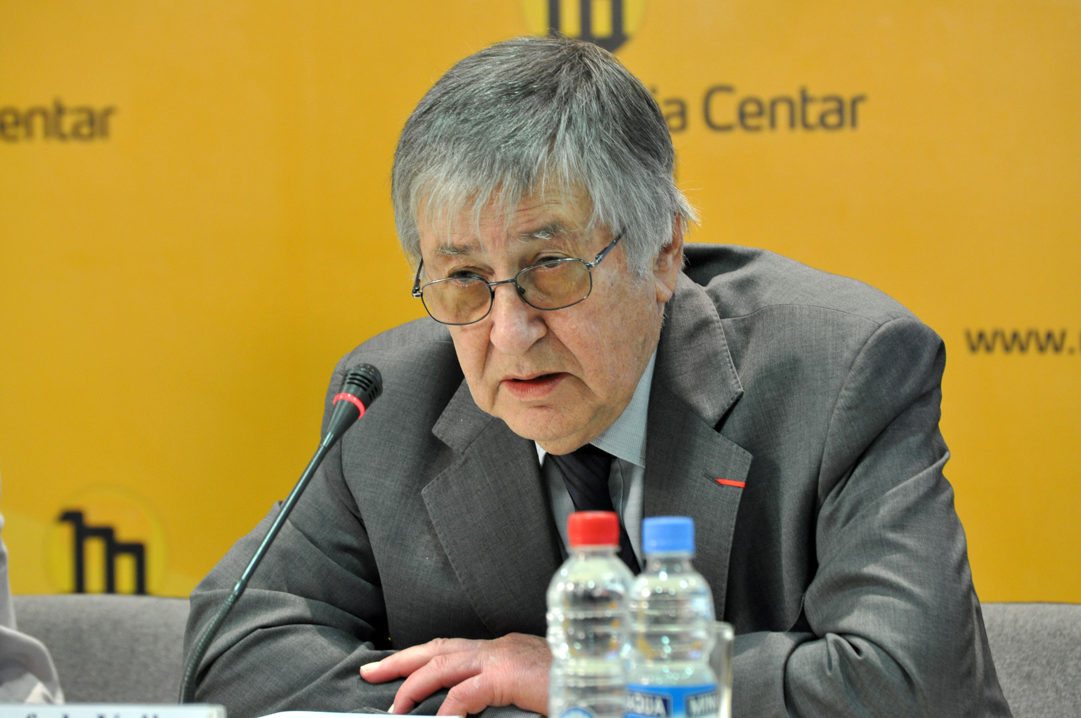 {{small Dimitrijević in March 2008.}}