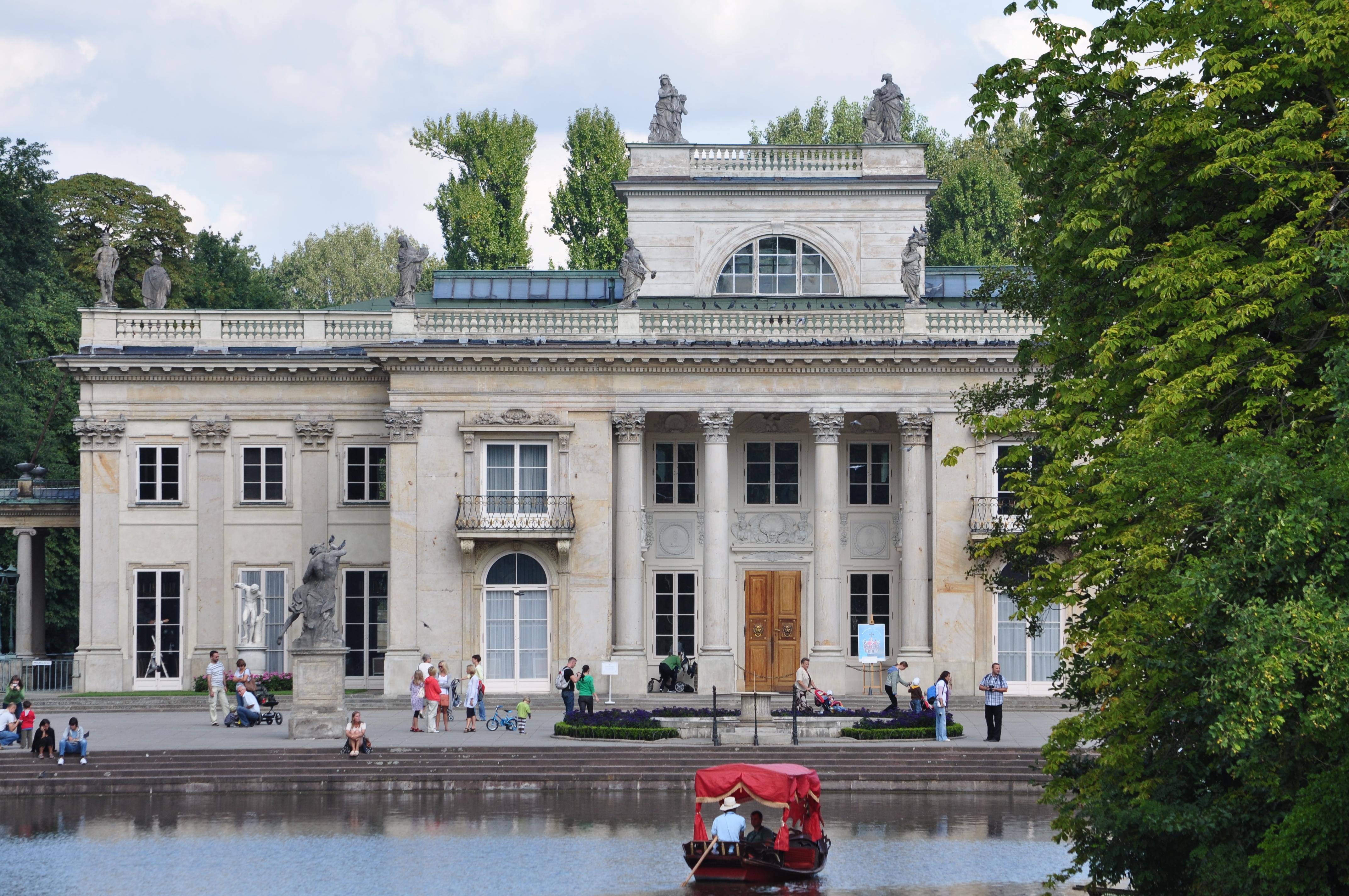 Filewarszawa łazienki Pałac Na Wyspiejpg Wikimedia