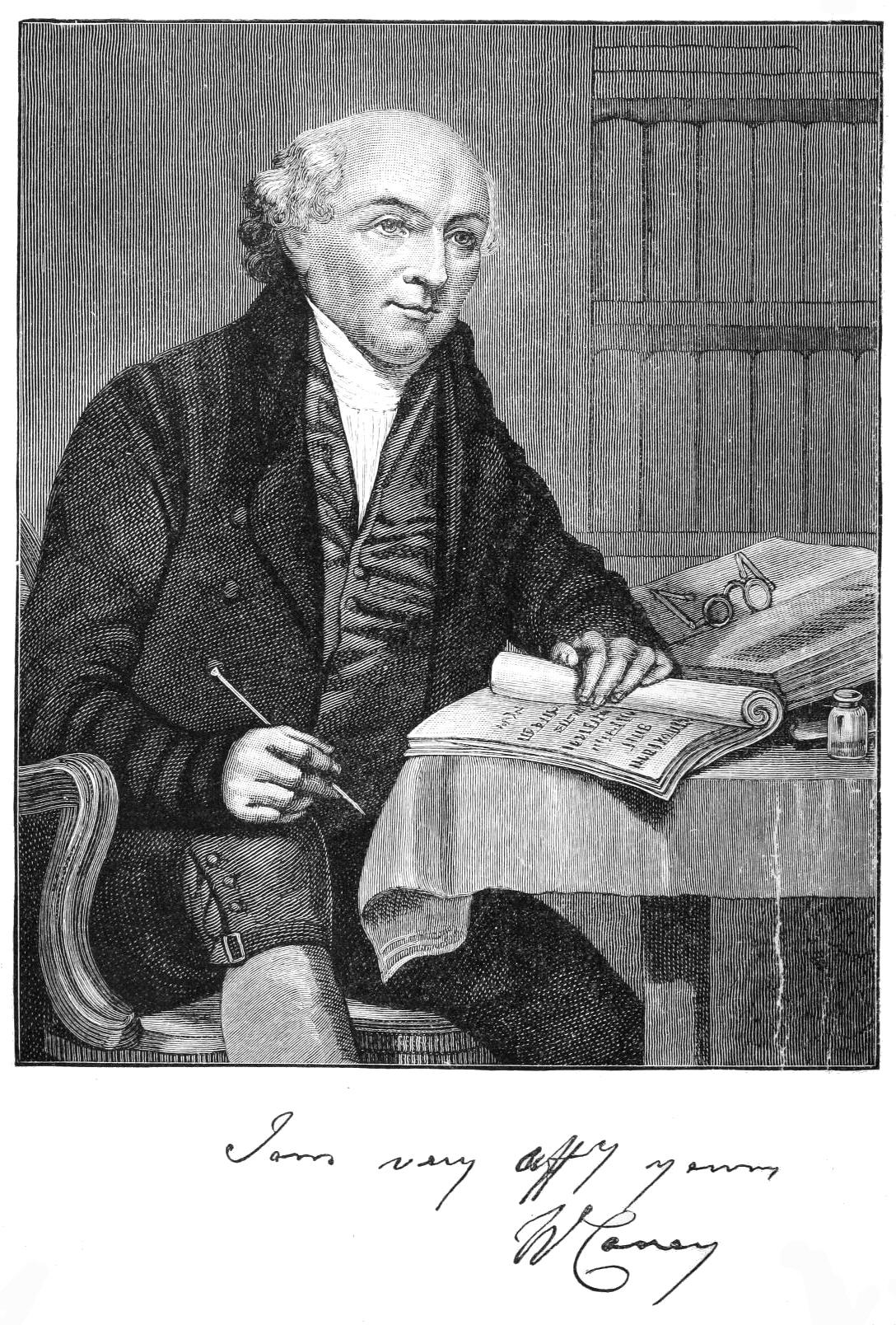 Portrait of William Carey