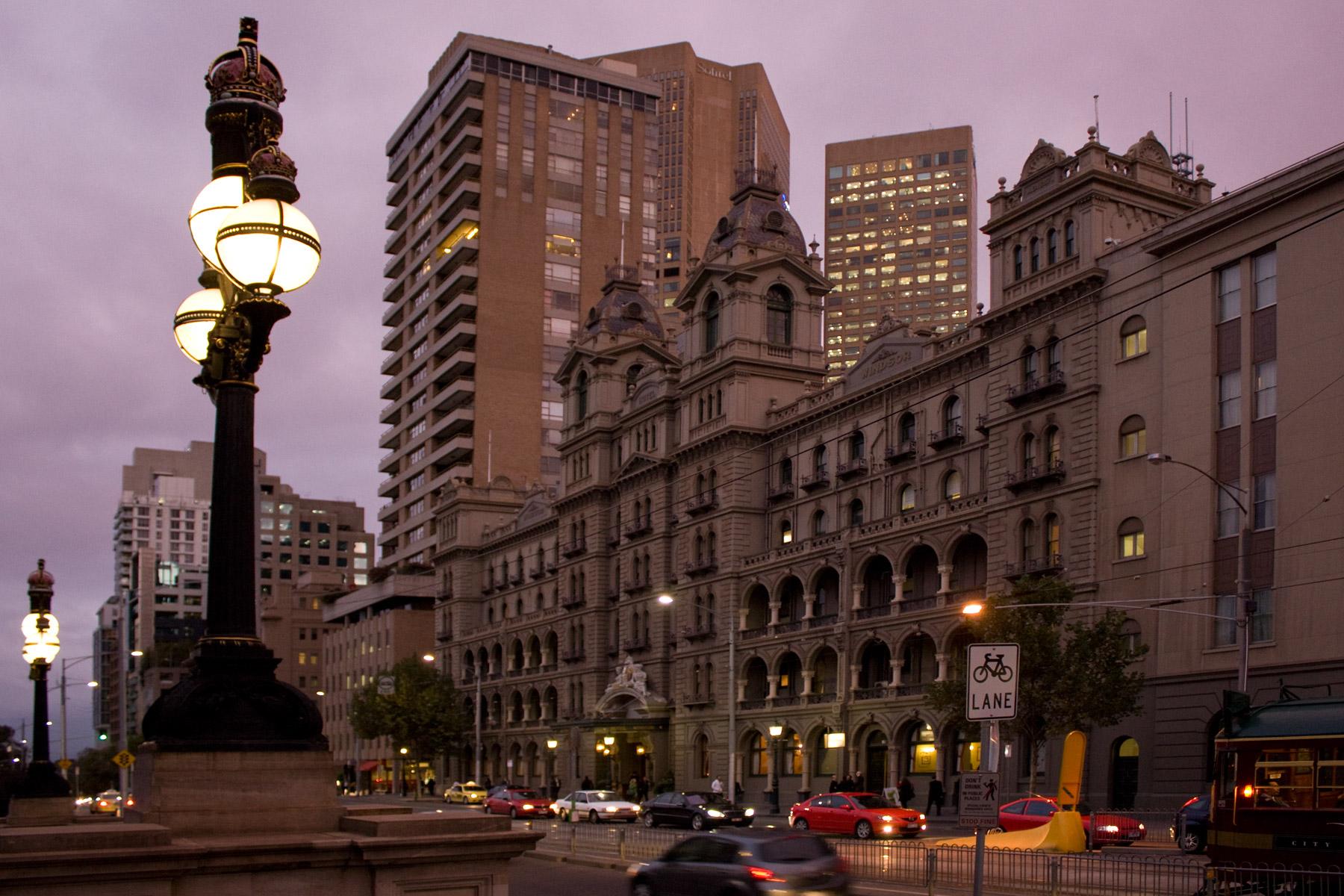 Windsor Hotel in Melbourne