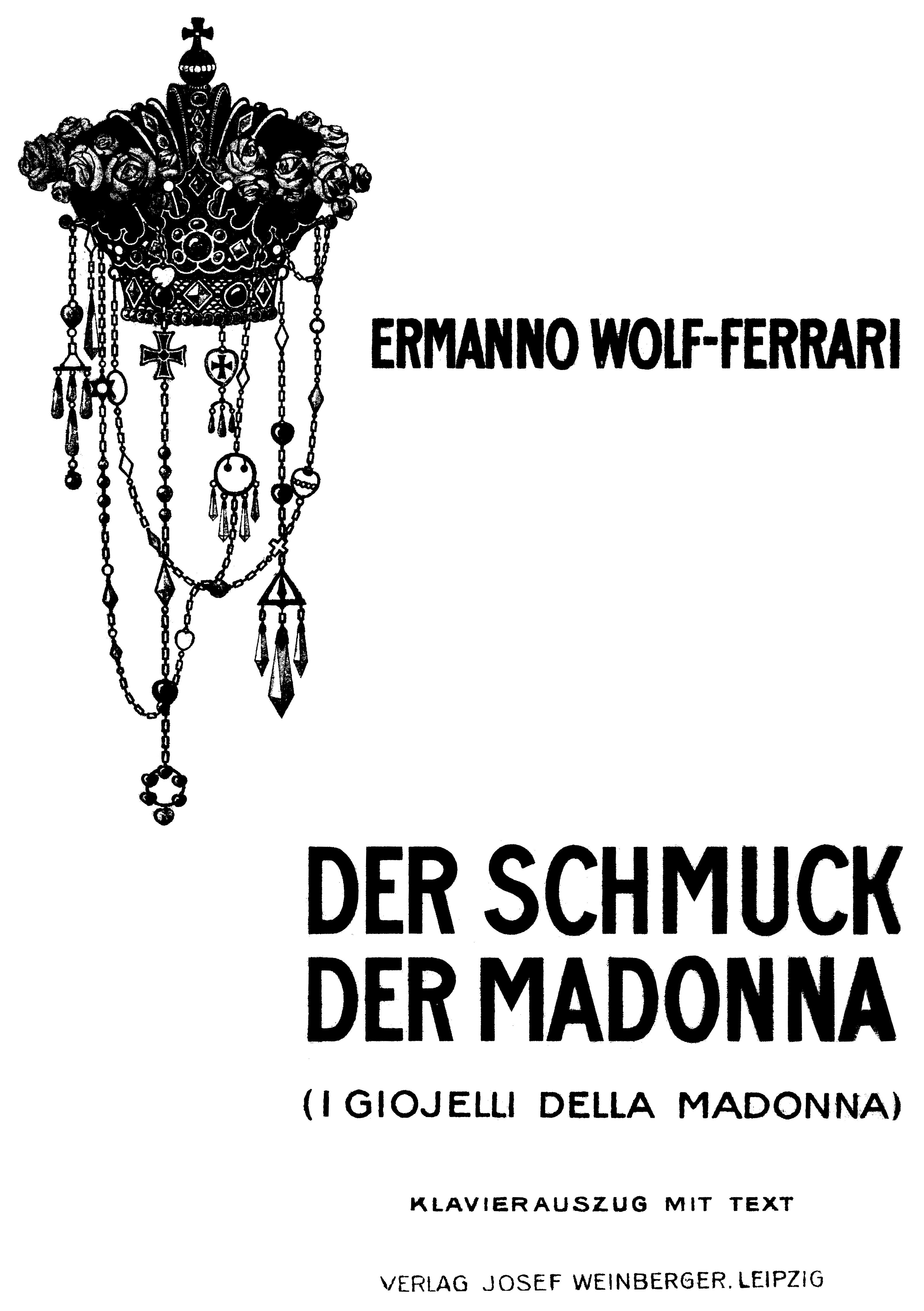 I Gioielli Della Madonna Wikipedia