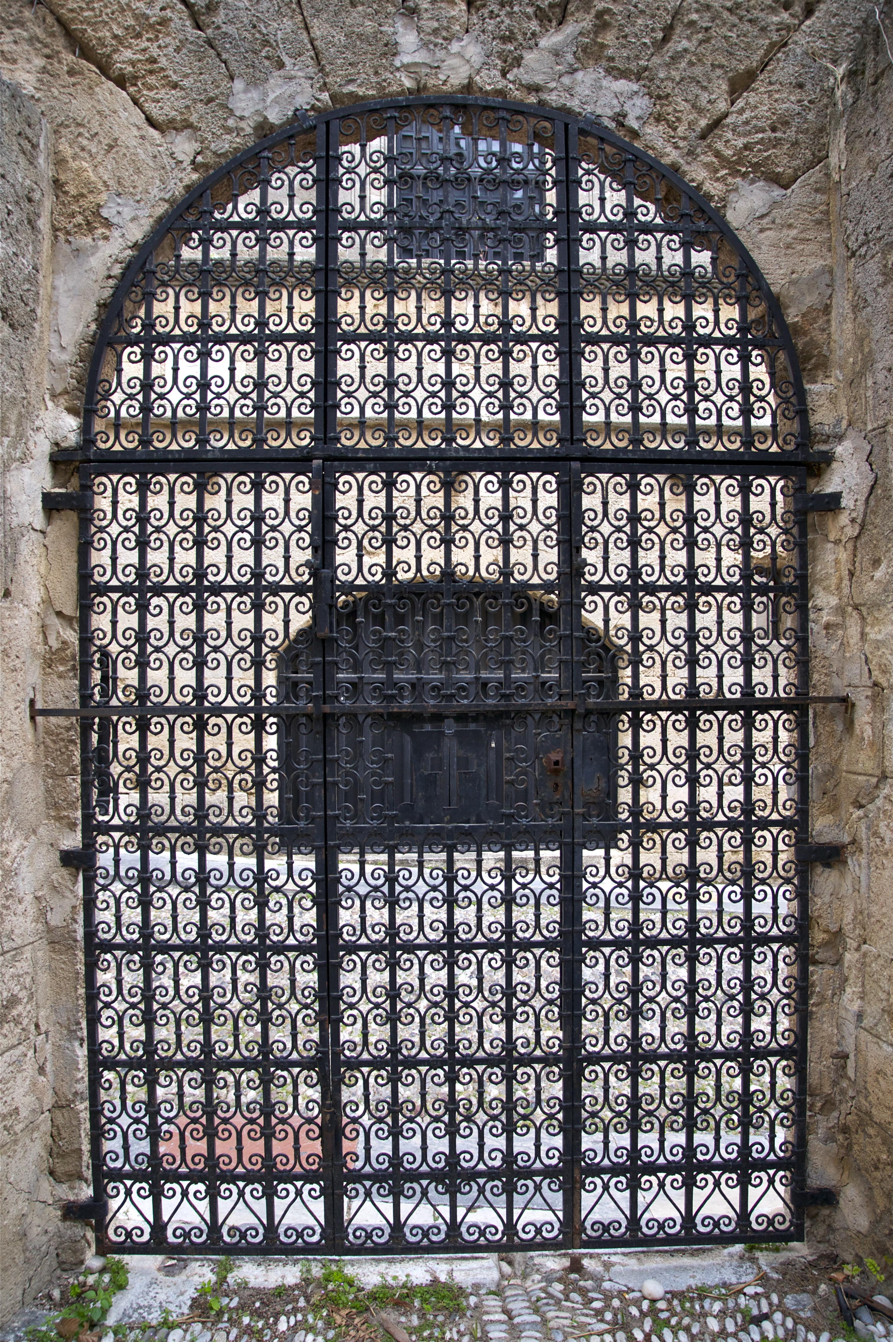 File:Wrought Iron Door Rhodes