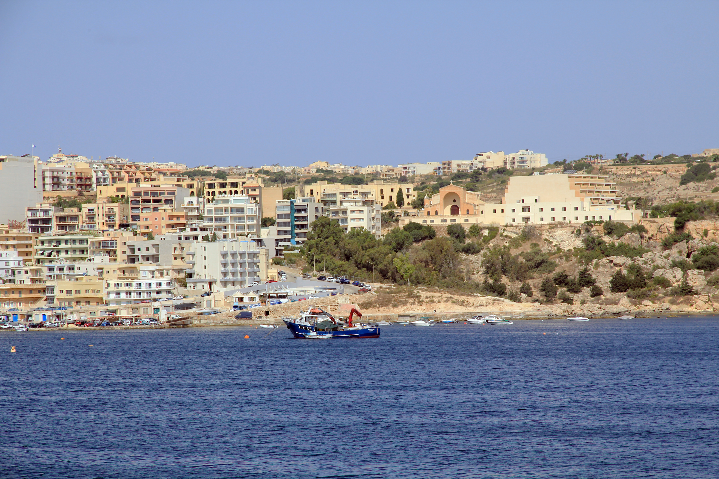 Xemxija from St Paul Bay Malta 2.jpg