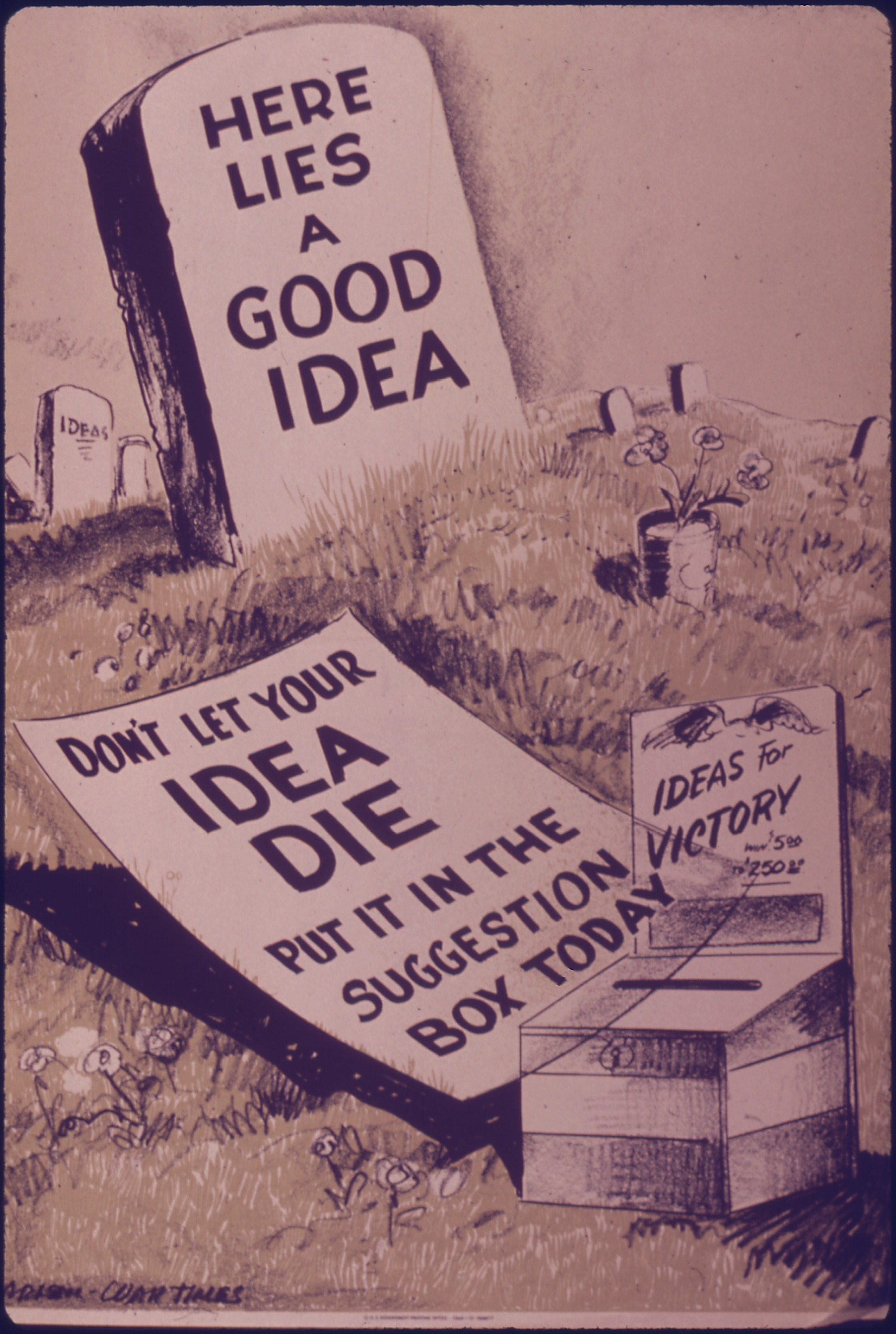 """""""Here Lies a Good Idea. Don't Let Your Id..."""