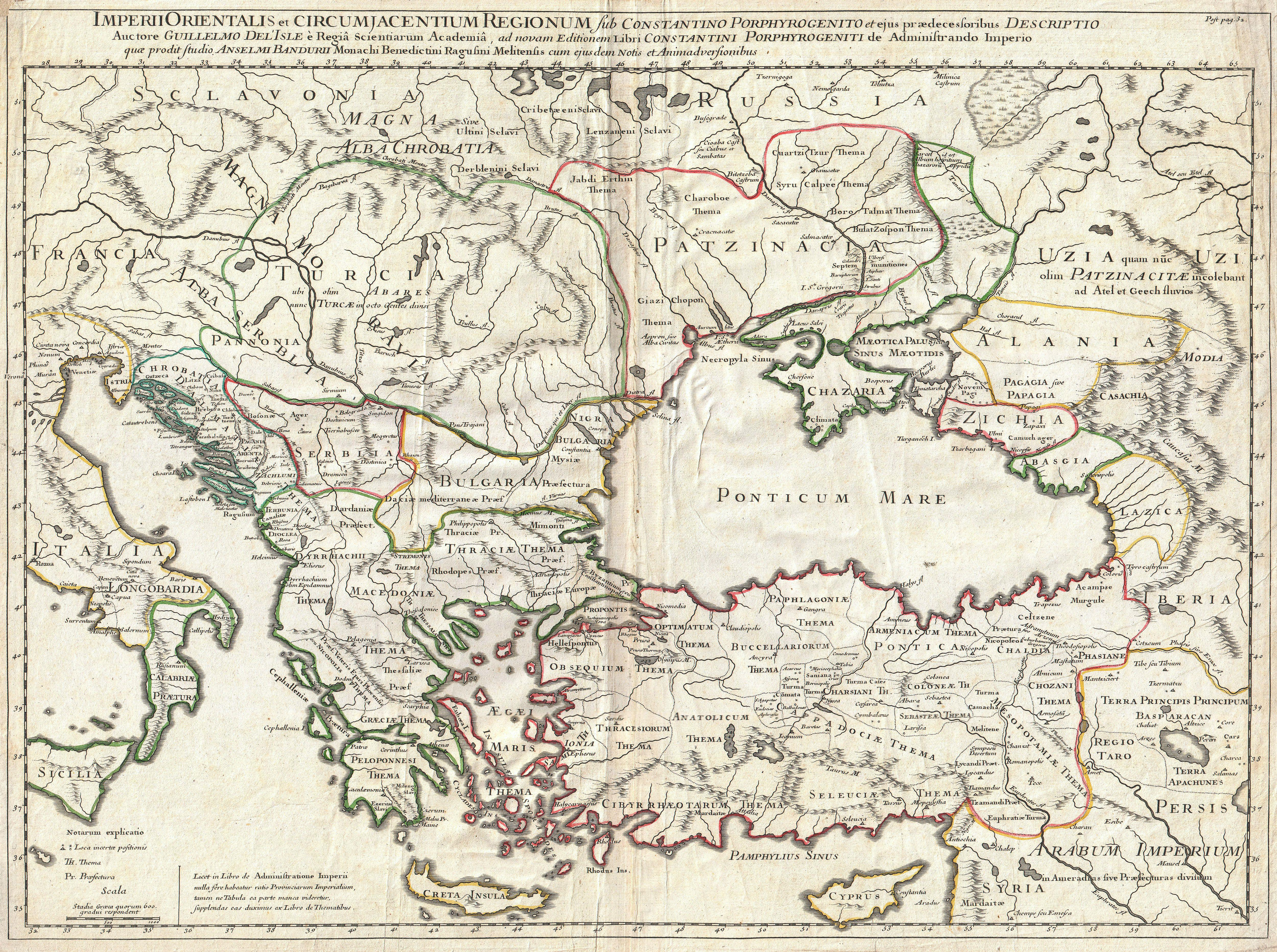 File:1715 De L'Isle Map of the Eastern Roman Empire under Constantine (